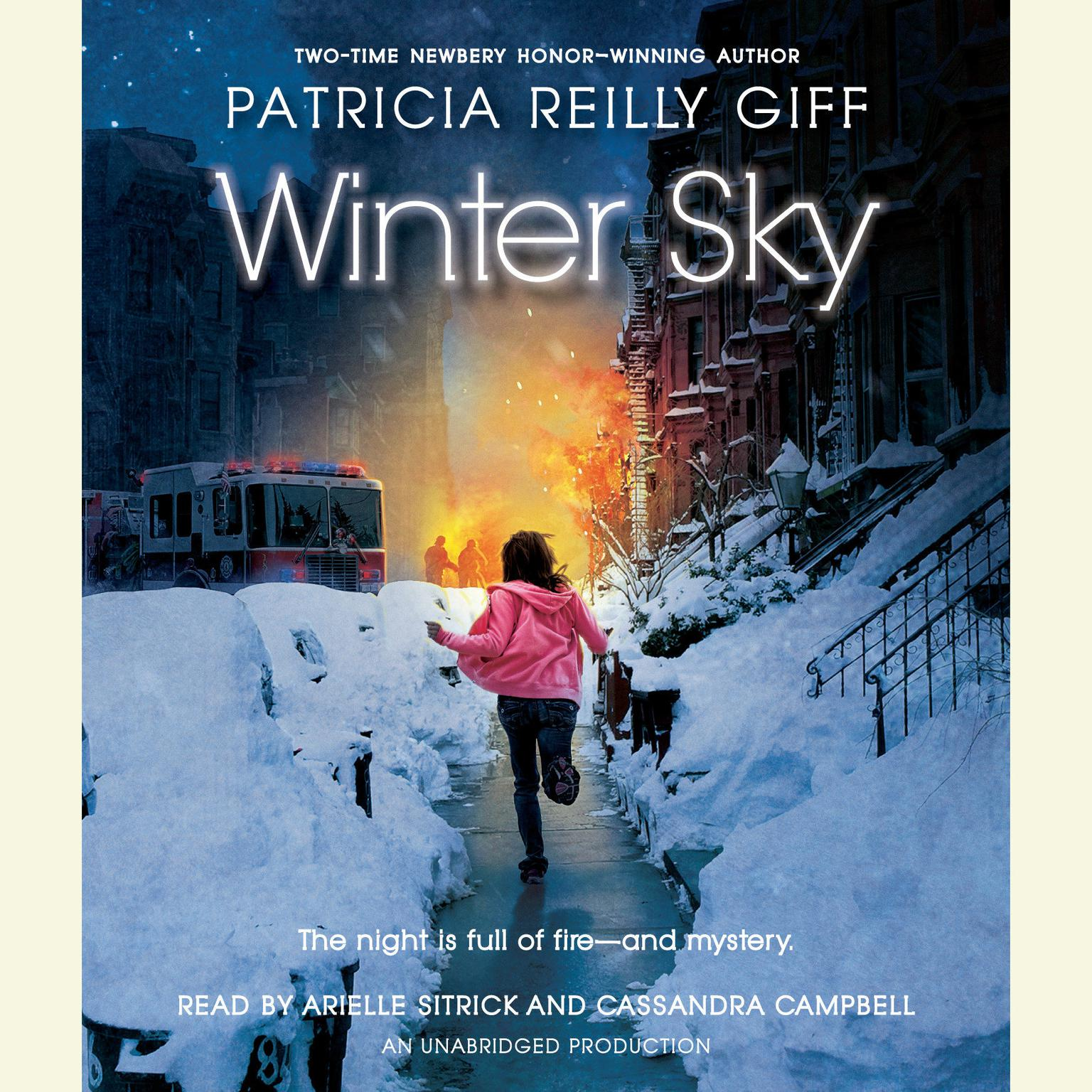 Printable Winter Sky Audiobook Cover Art