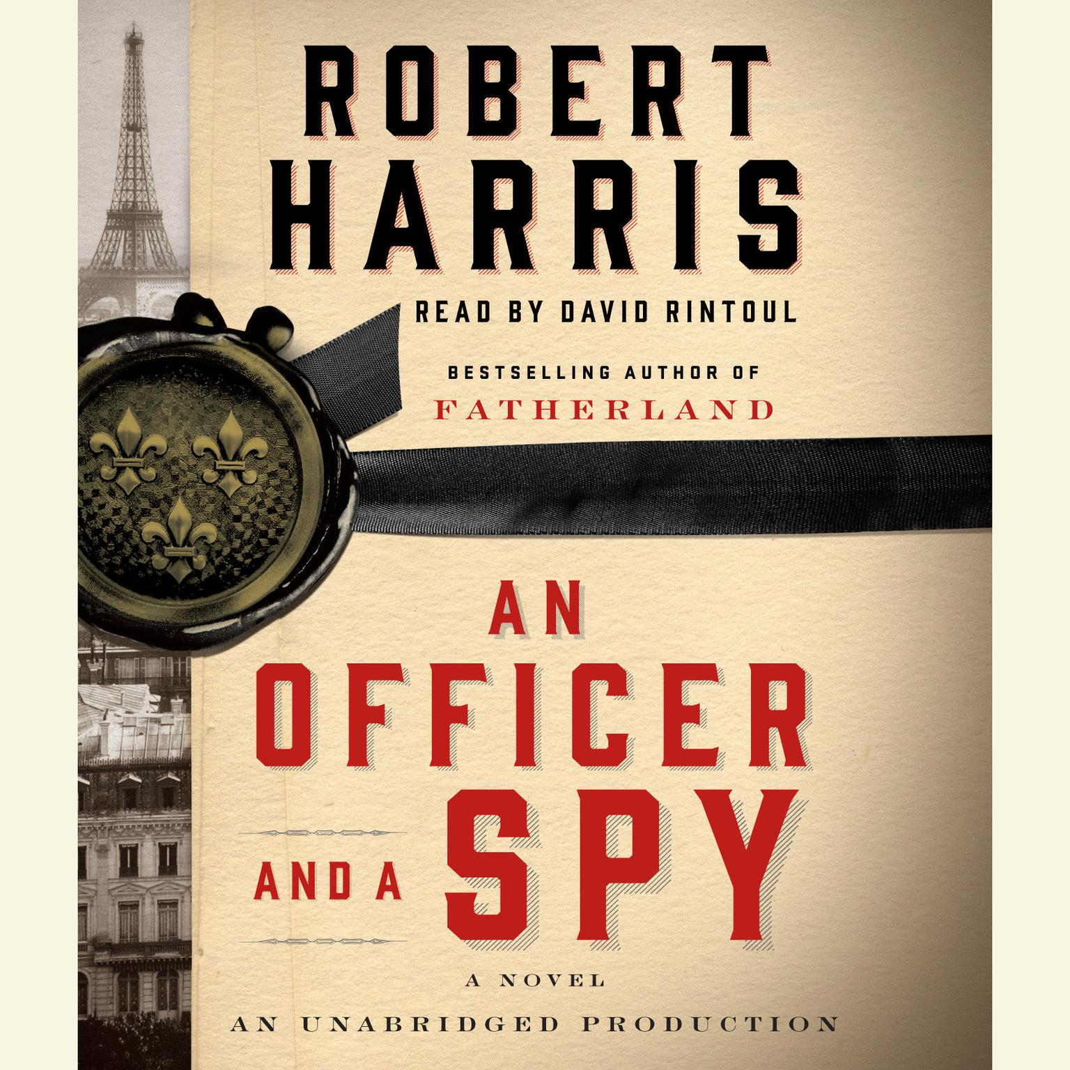 Printable An Officer and a Spy Audiobook Cover Art