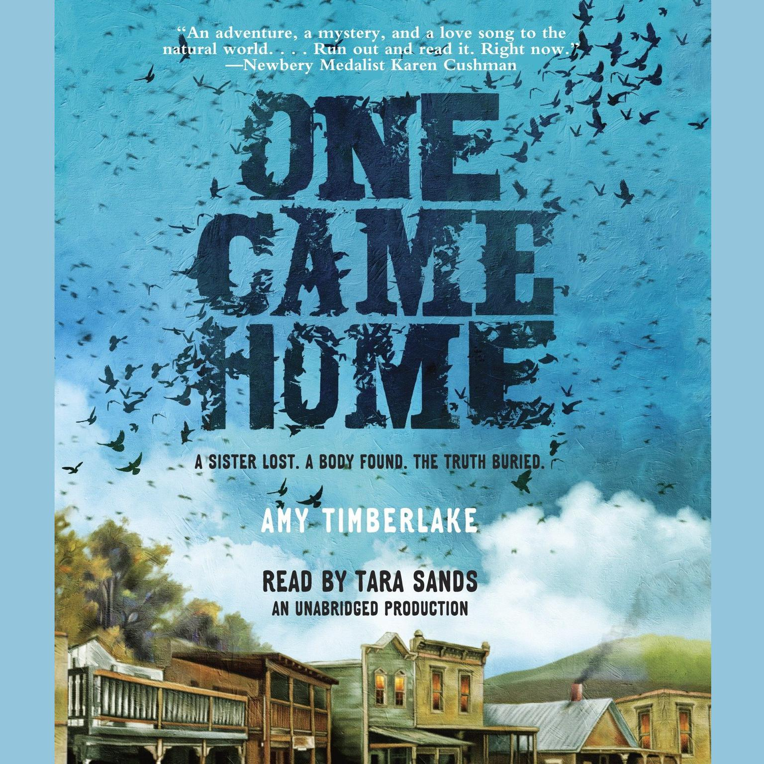 Printable One Came Home Audiobook Cover Art