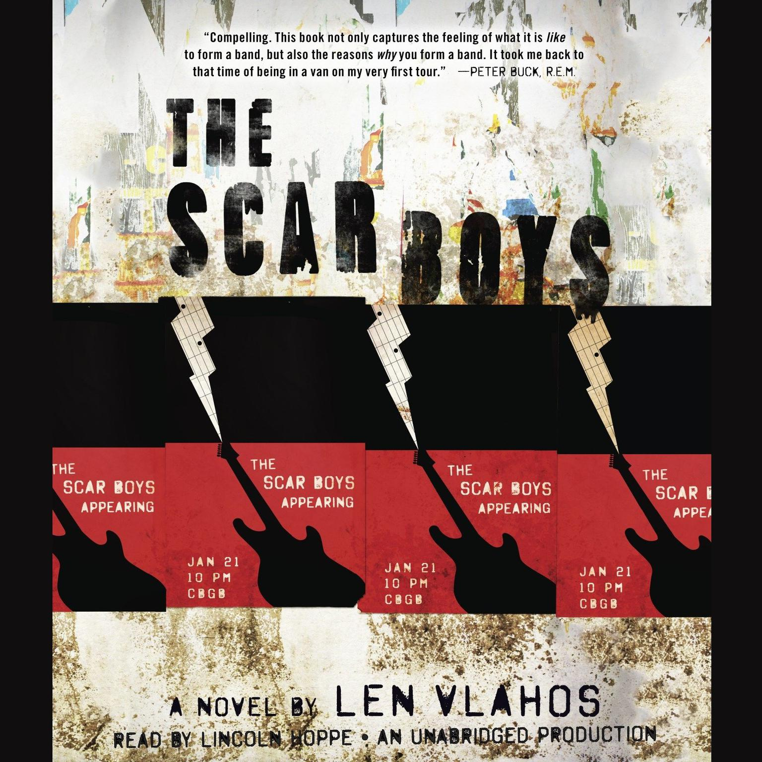 Printable The Scar Boys Audiobook Cover Art