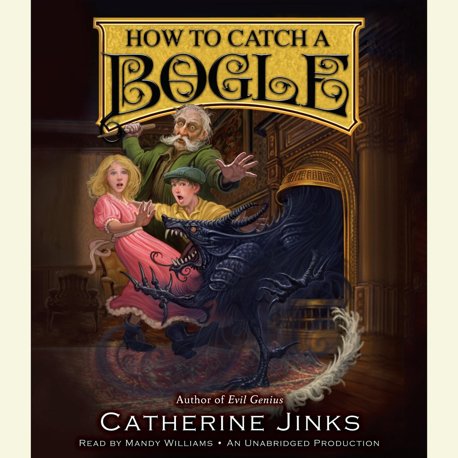 Printable How to Catch a Bogle Audiobook Cover Art