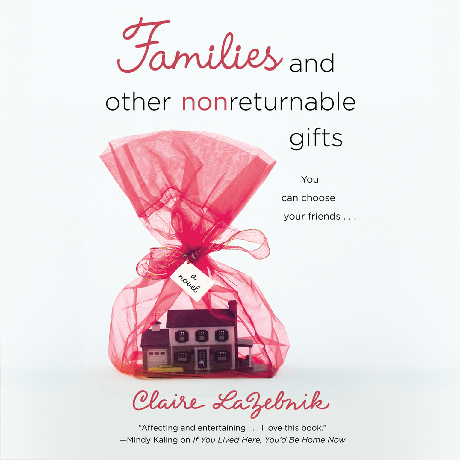 Printable Families and Other Nonreturnable Gifts Audiobook Cover Art