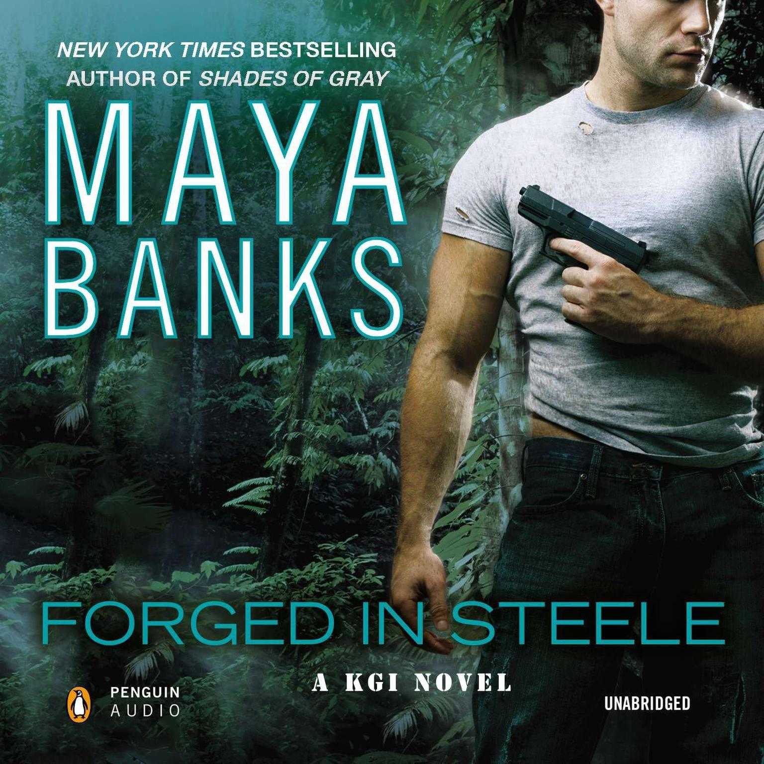 Printable Forged in Steele Audiobook Cover Art