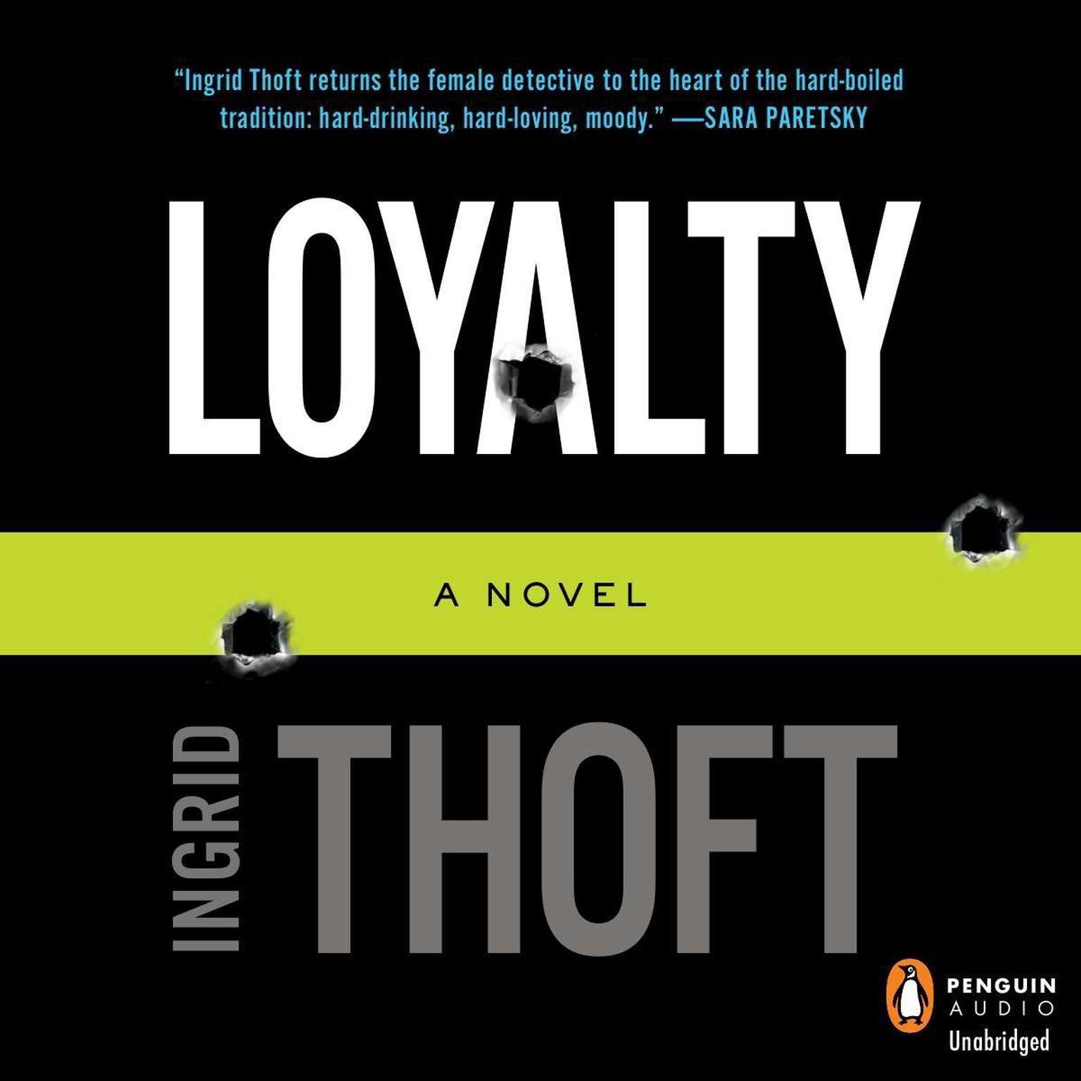 Printable Loyalty: A Novel Audiobook Cover Art
