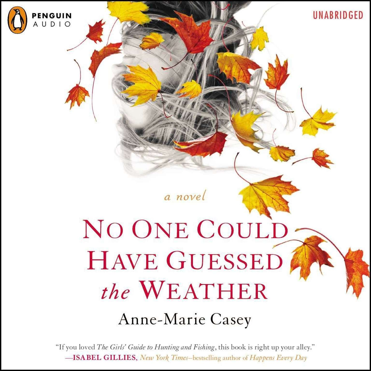 Printable No One Could Have Guessed the Weather Audiobook Cover Art