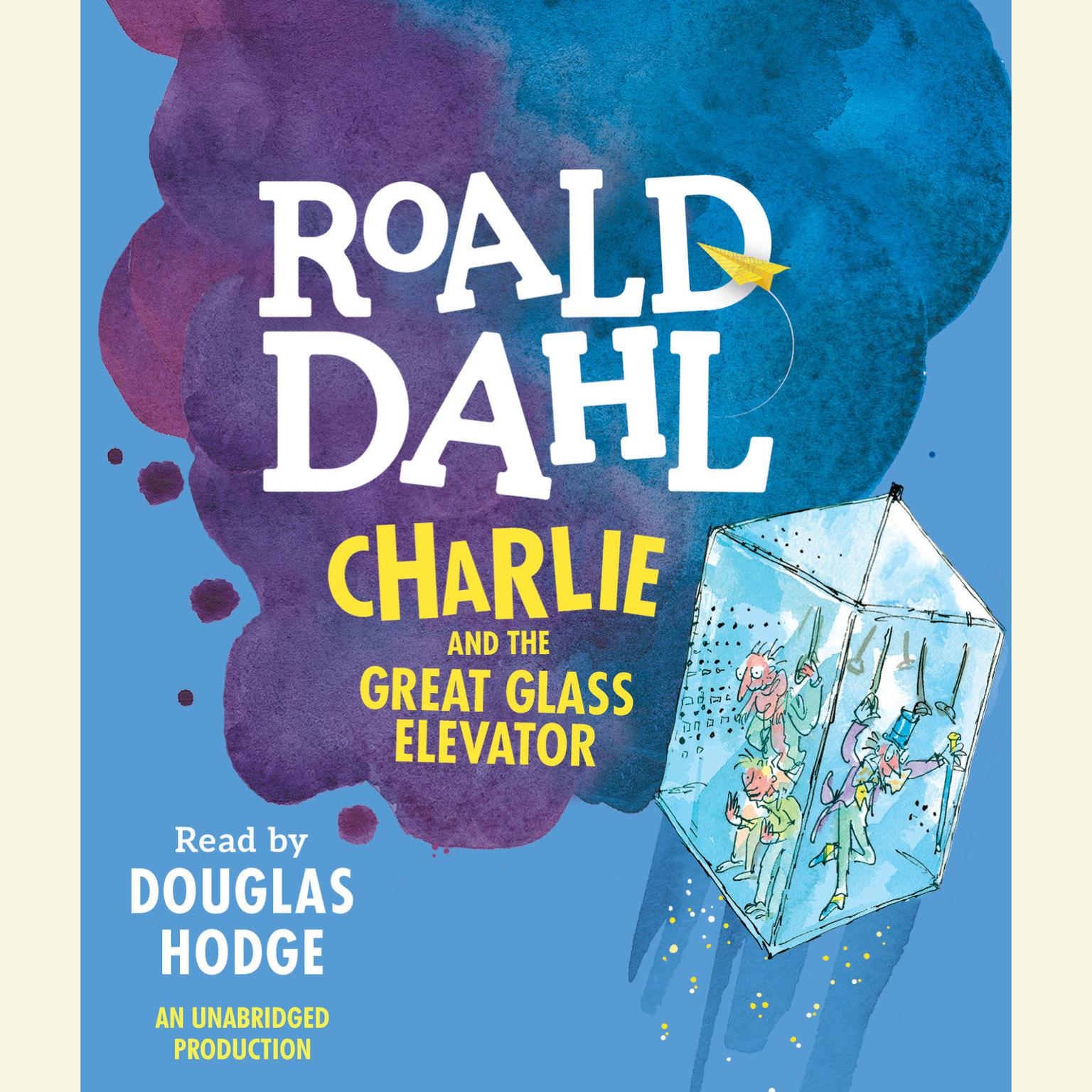 Printable Charlie and the Great Glass Elevator Audiobook Cover Art