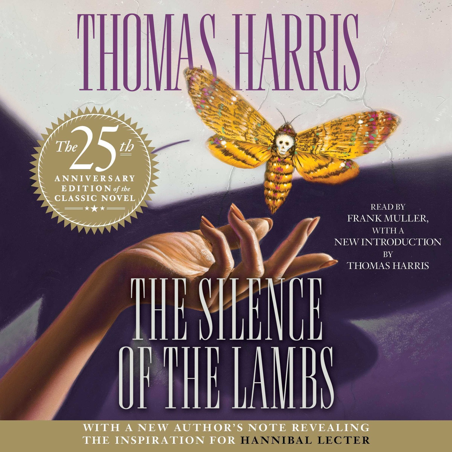 Printable The Silence of the Lambs: 25th Anniversary Edition Audiobook Cover Art