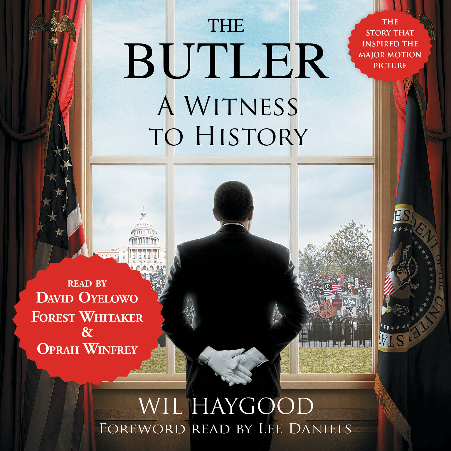 Printable The Butler: A Witness to History Audiobook Cover Art