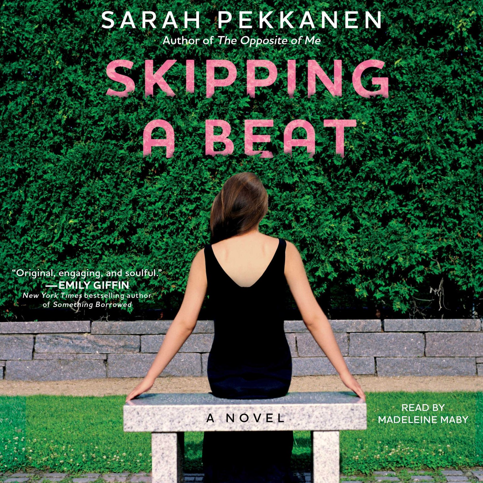 Printable Skipping a Beat: A Novel Audiobook Cover Art