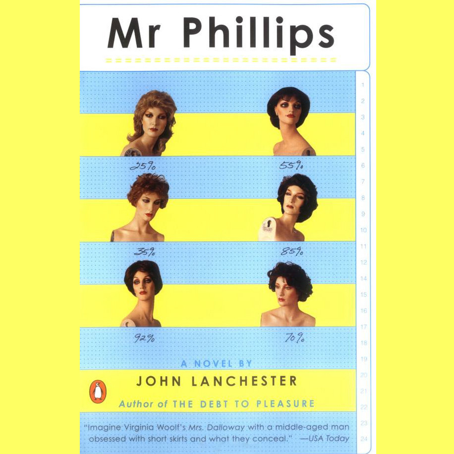 Printable Mr. Phillips Audiobook Cover Art