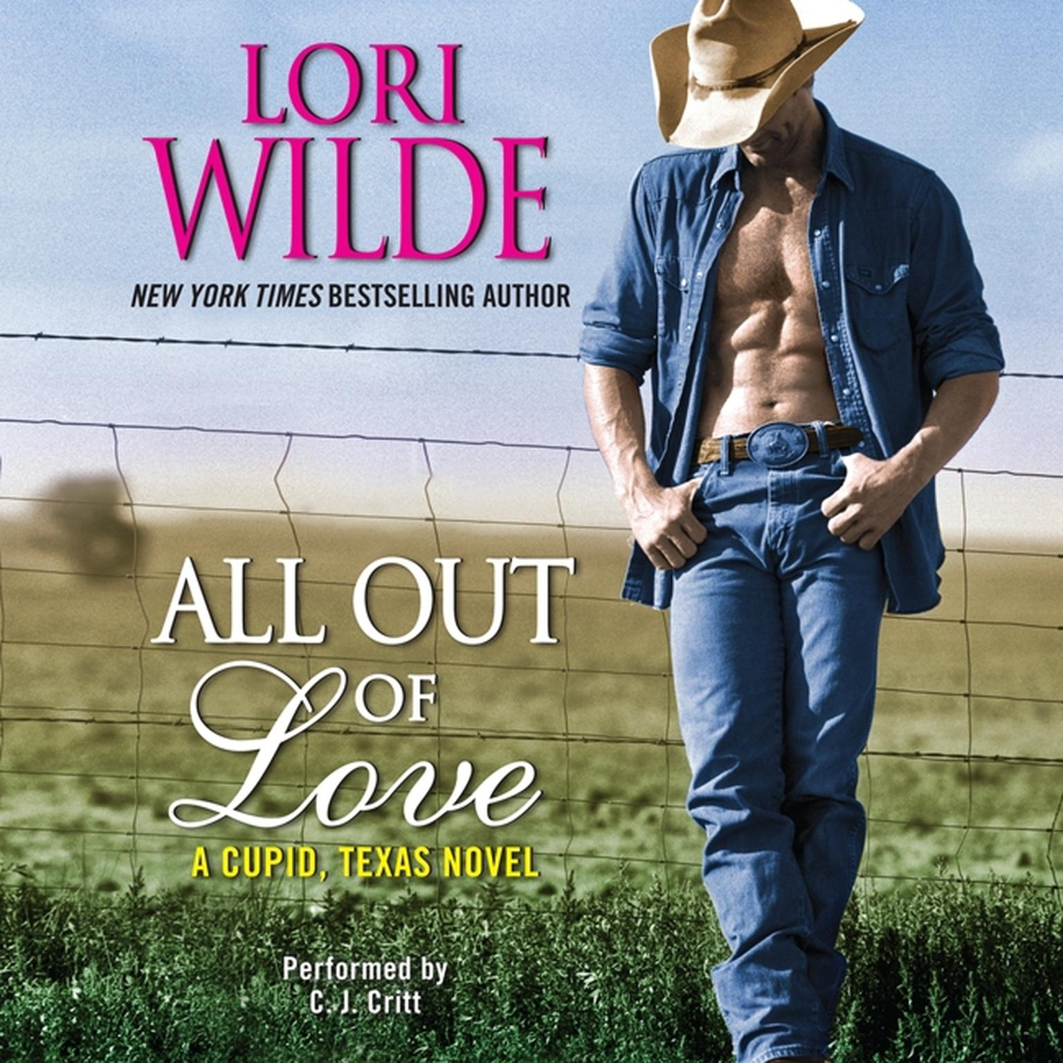 Printable All Out of Love: A Cupid, Texas Novel Audiobook Cover Art