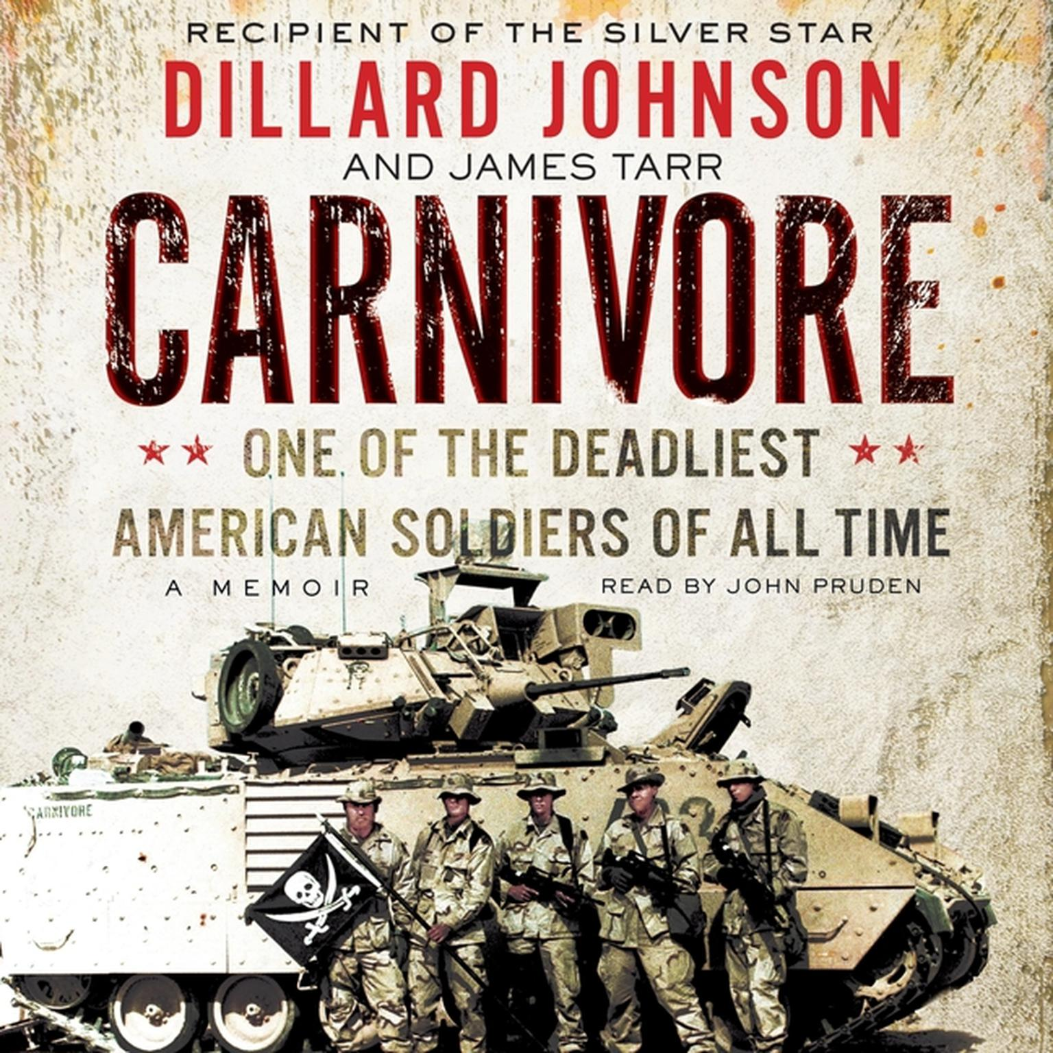 Printable Carnivore: A Memoir by One of the Deadliest American Soldiers of All Time Audiobook Cover Art
