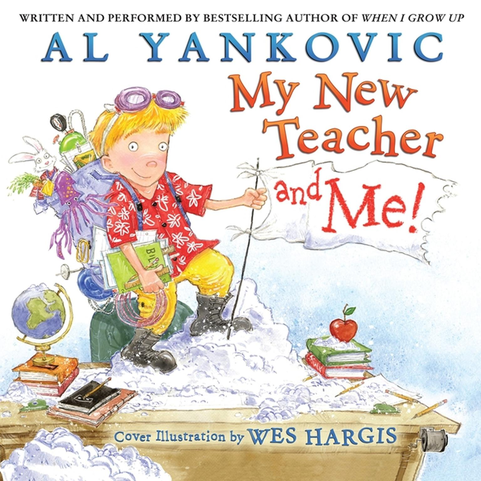Printable My New Teacher and Me! Audiobook Cover Art