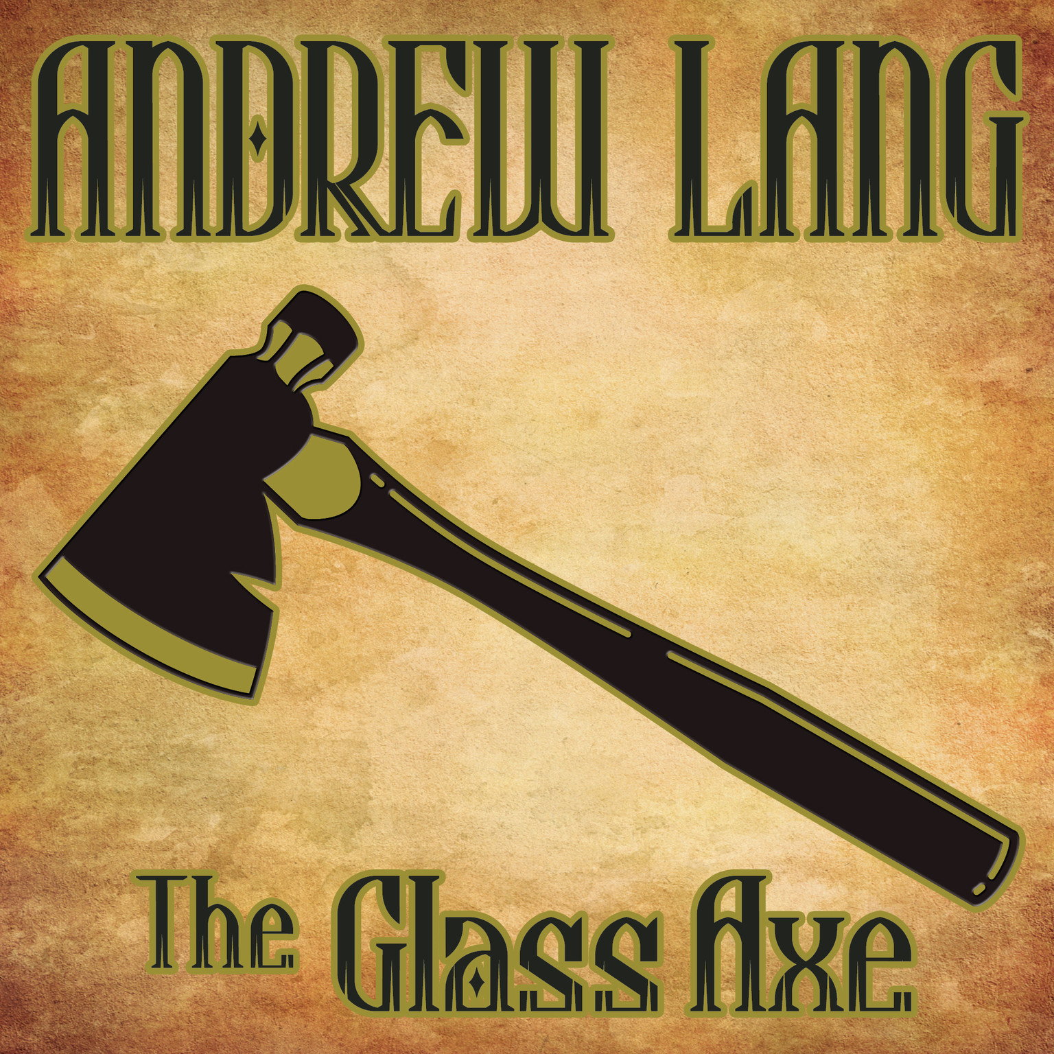 Printable The Glass Axe Audiobook Cover Art