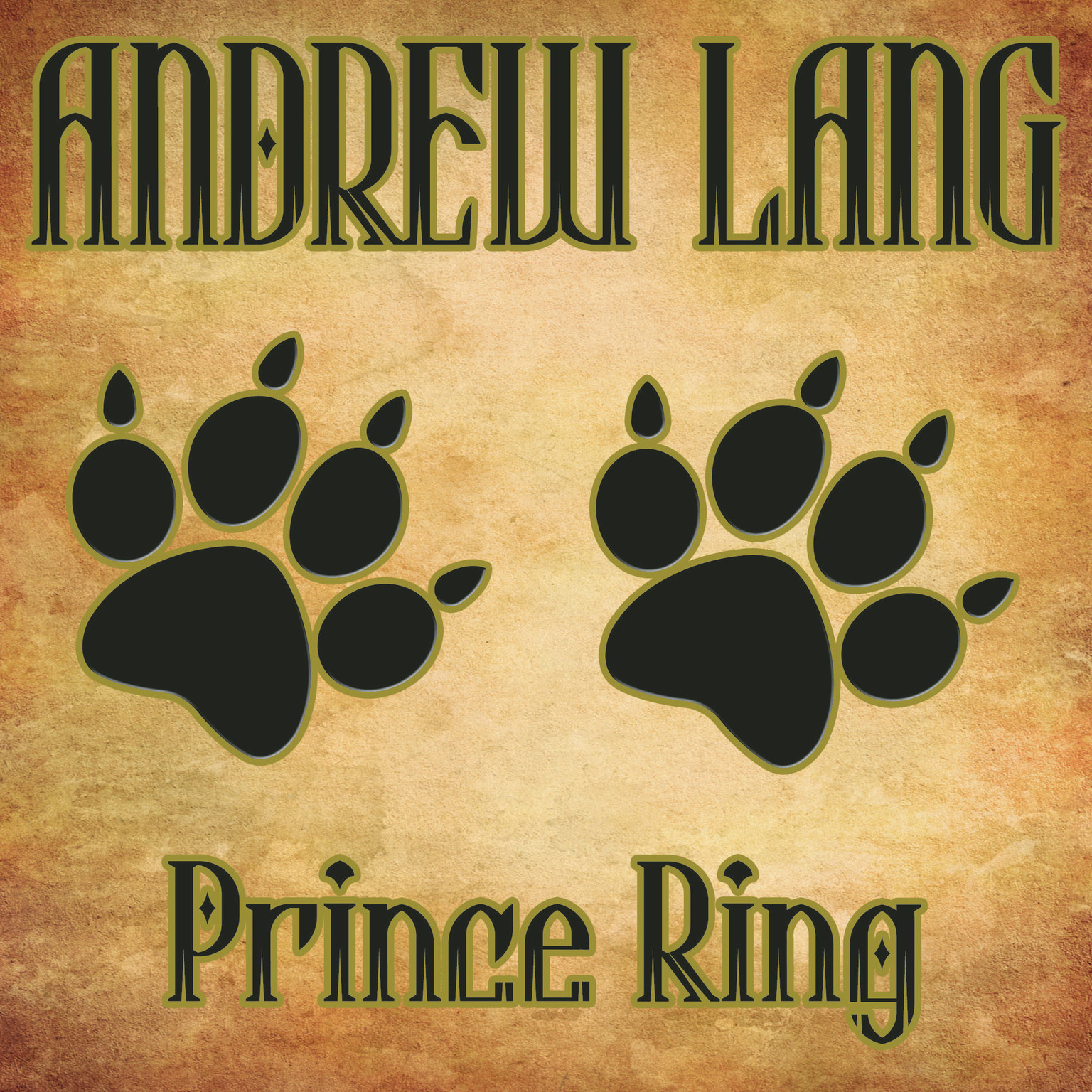 Printable Prince Ring Audiobook Cover Art
