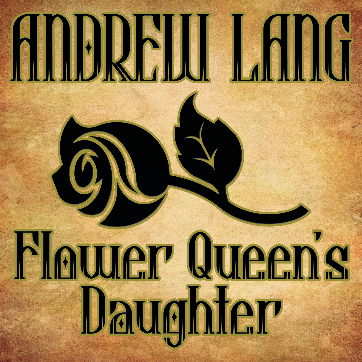 Printable Flower Queen's Daughter Audiobook Cover Art