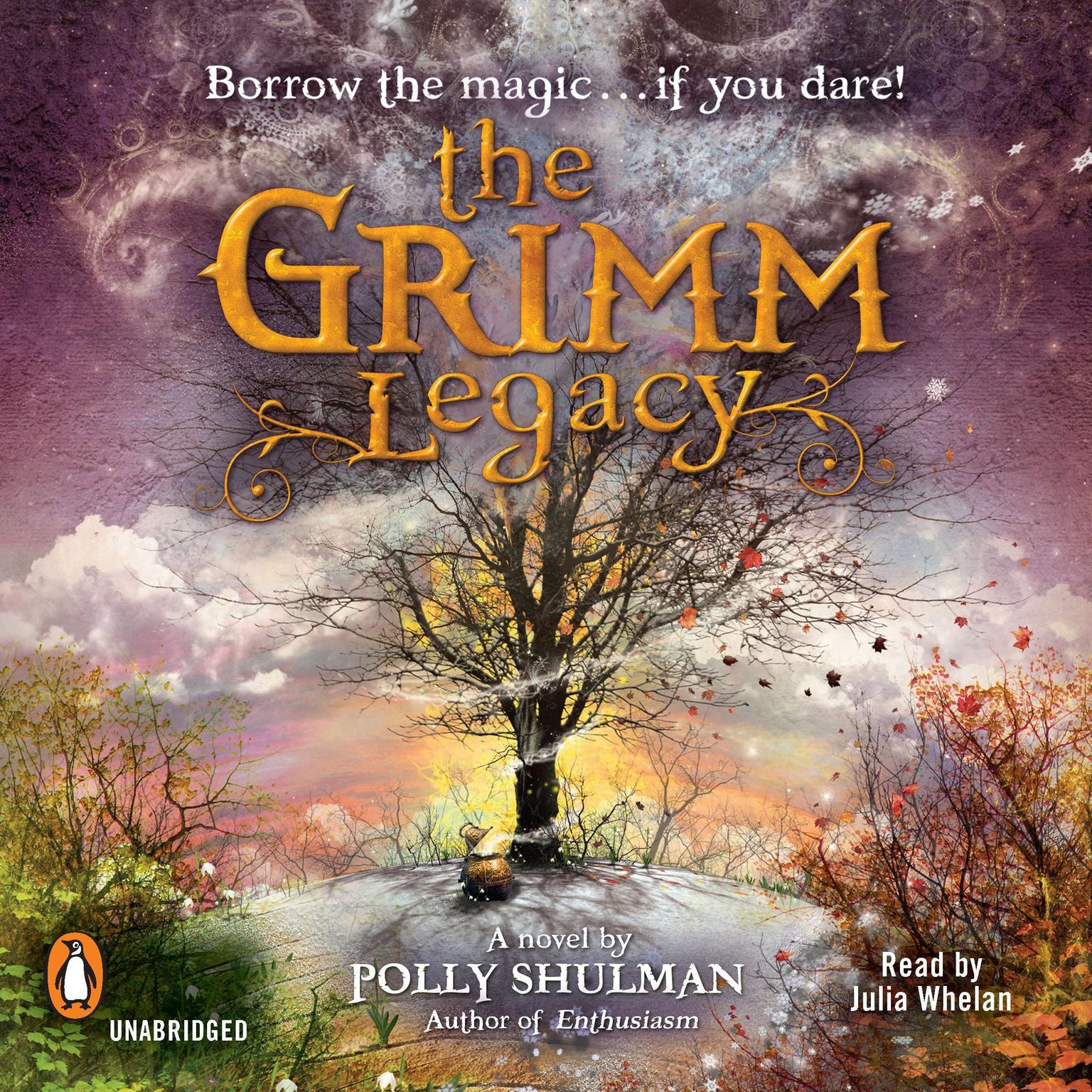 Printable The Grimm Legacy Audiobook Cover Art