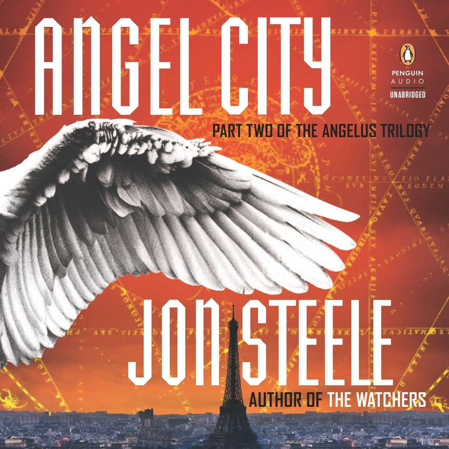 Printable Angel City Audiobook Cover Art
