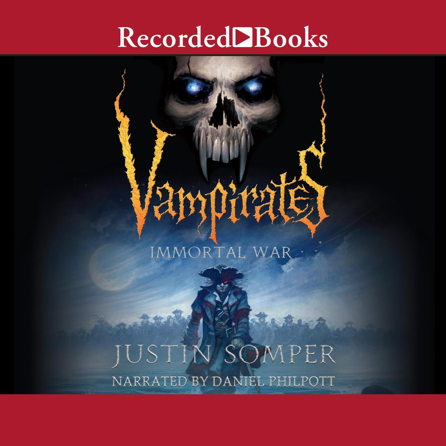 Printable Vampirates: Immortal War Audiobook Cover Art