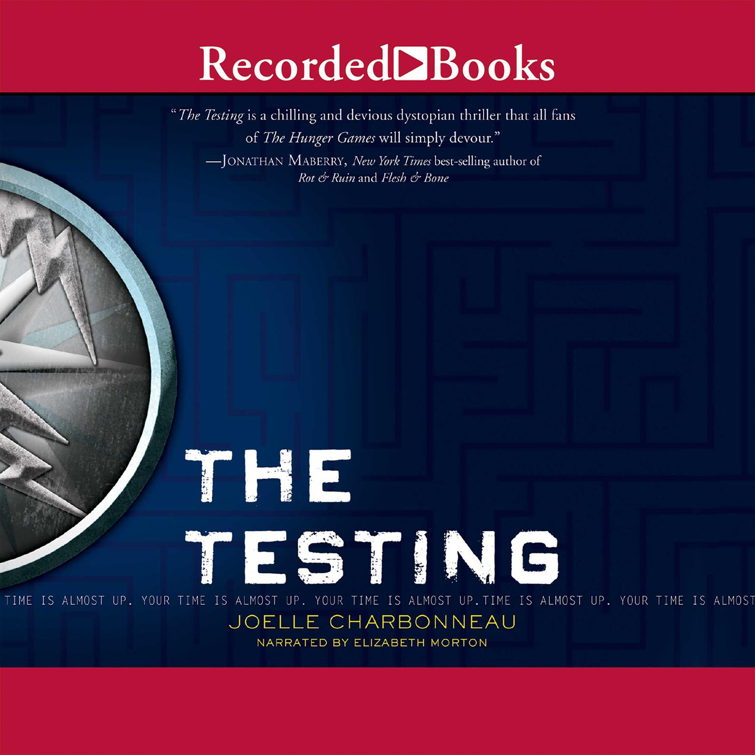 Printable The Testing Audiobook Cover Art