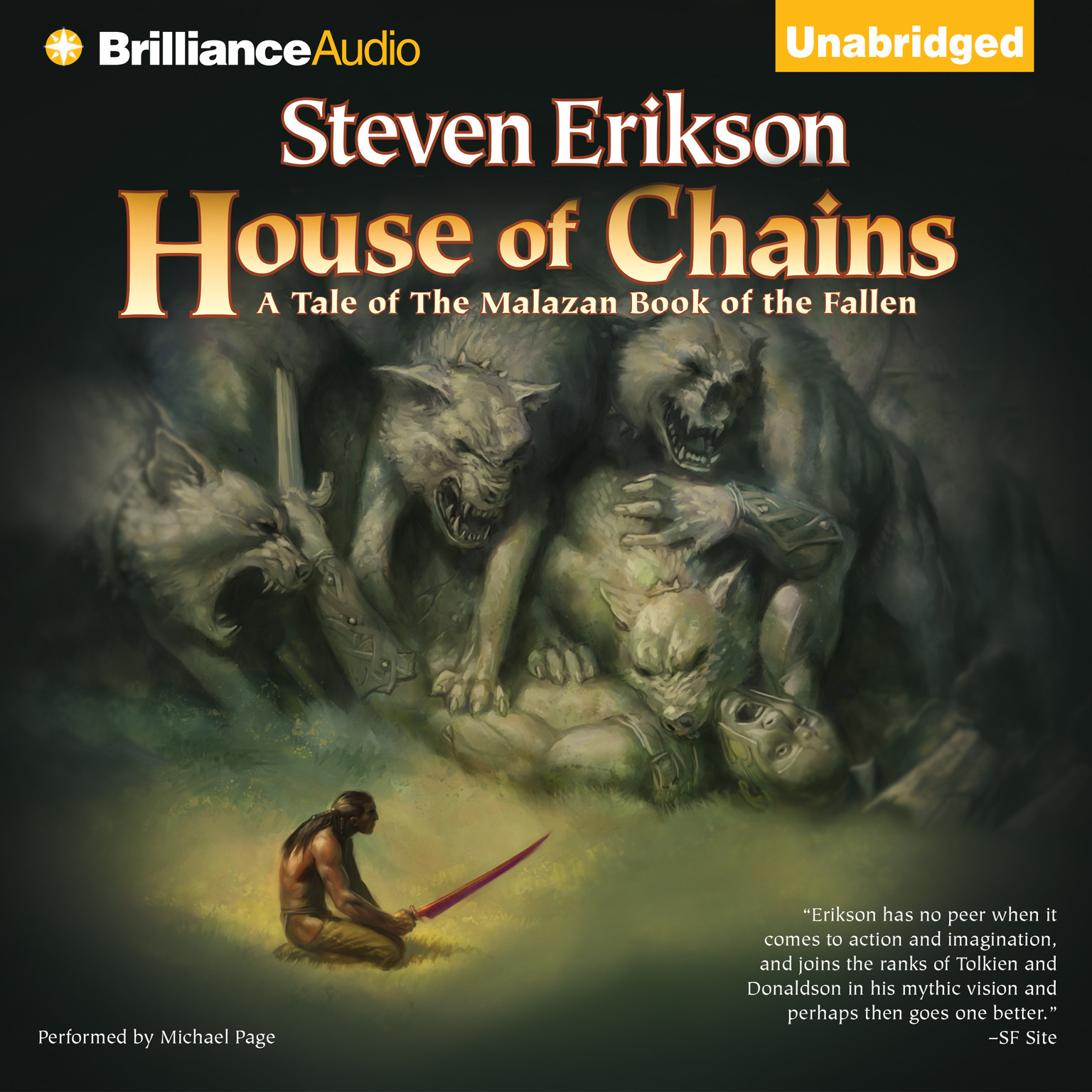 Printable House of Chains Audiobook Cover Art