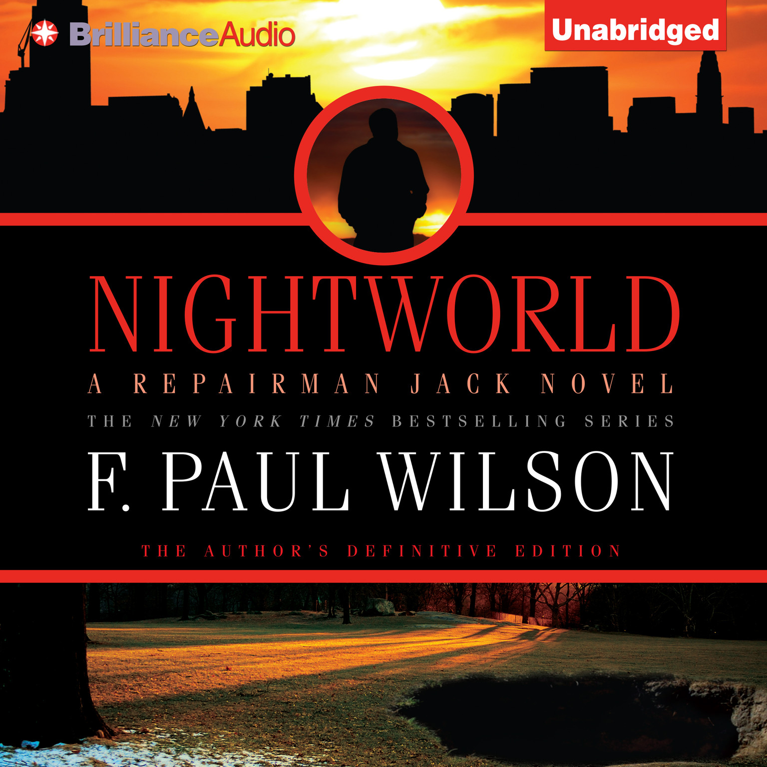 Printable Nightworld Audiobook Cover Art