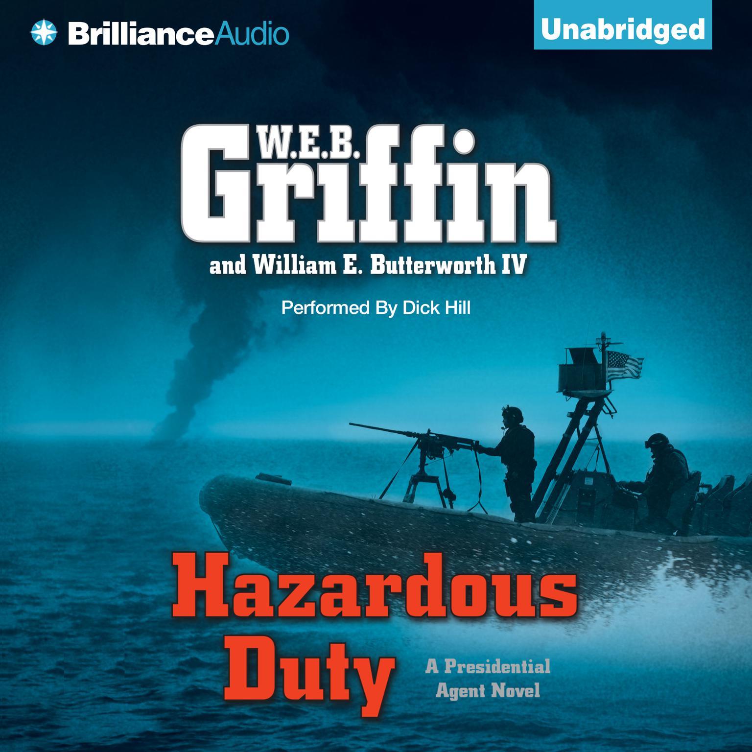 Printable Hazardous Duty Audiobook Cover Art