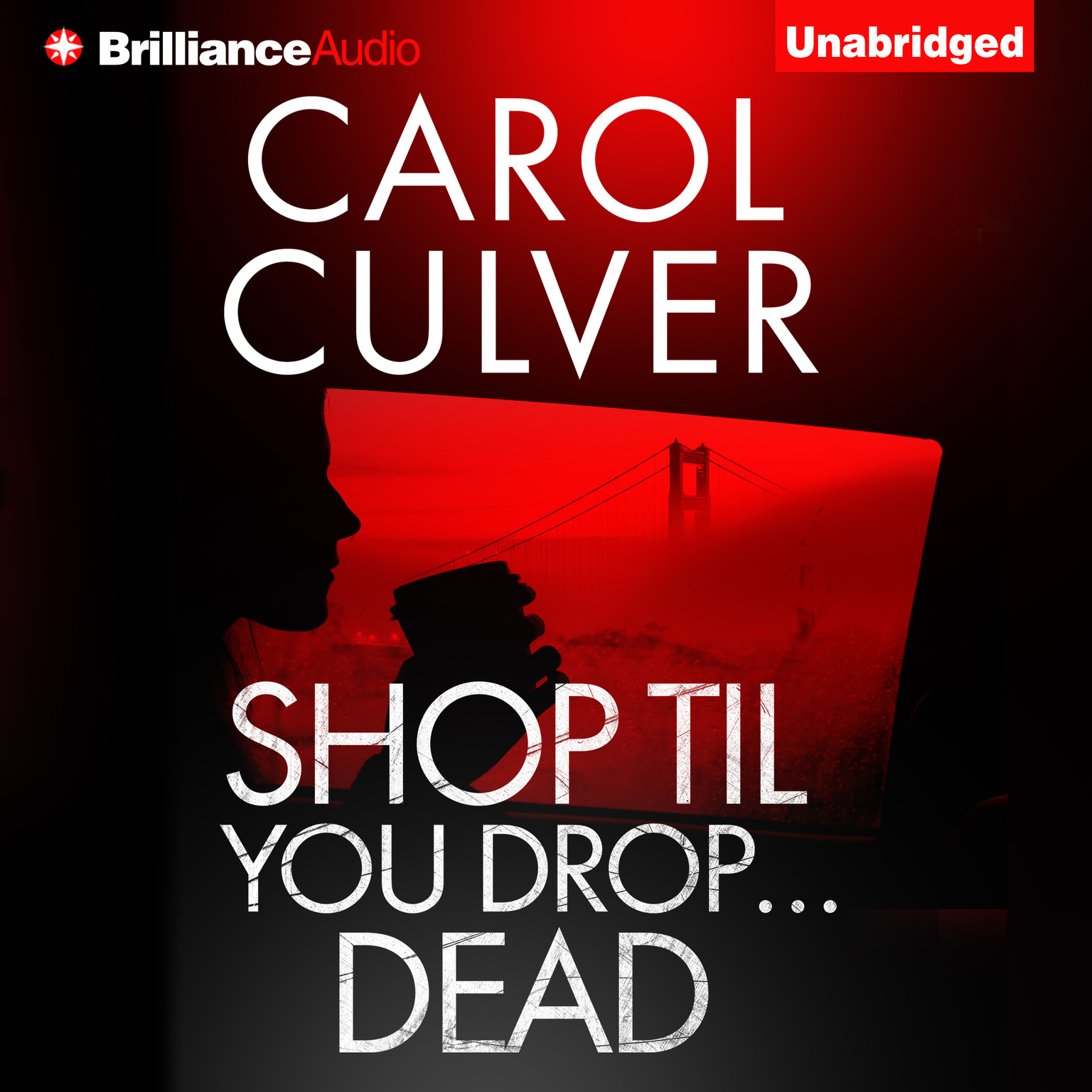 Printable Shop Til You Drop…Dead Audiobook Cover Art