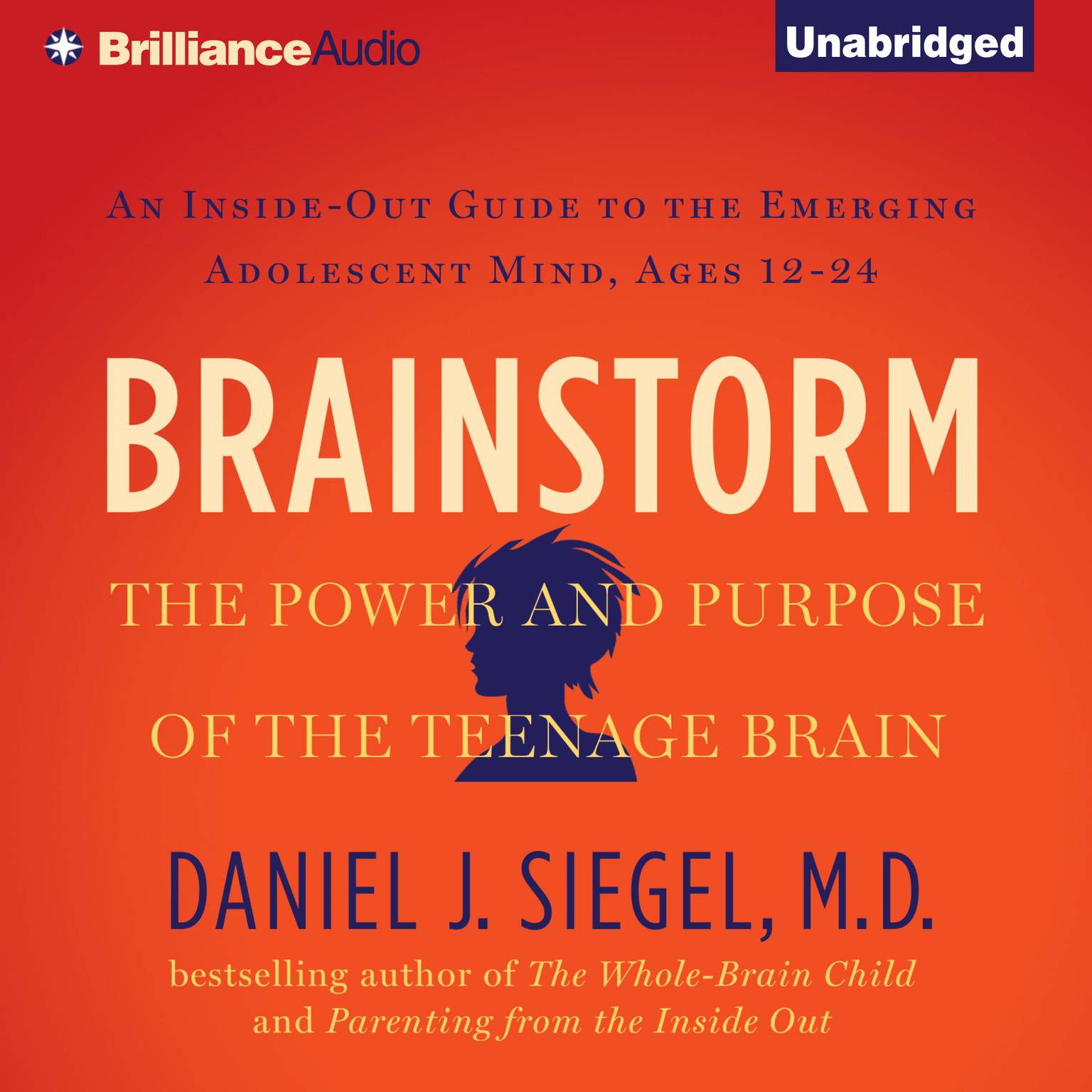 Printable Brainstorm: The Power and Purpose of the Teenage Brain Audiobook Cover Art