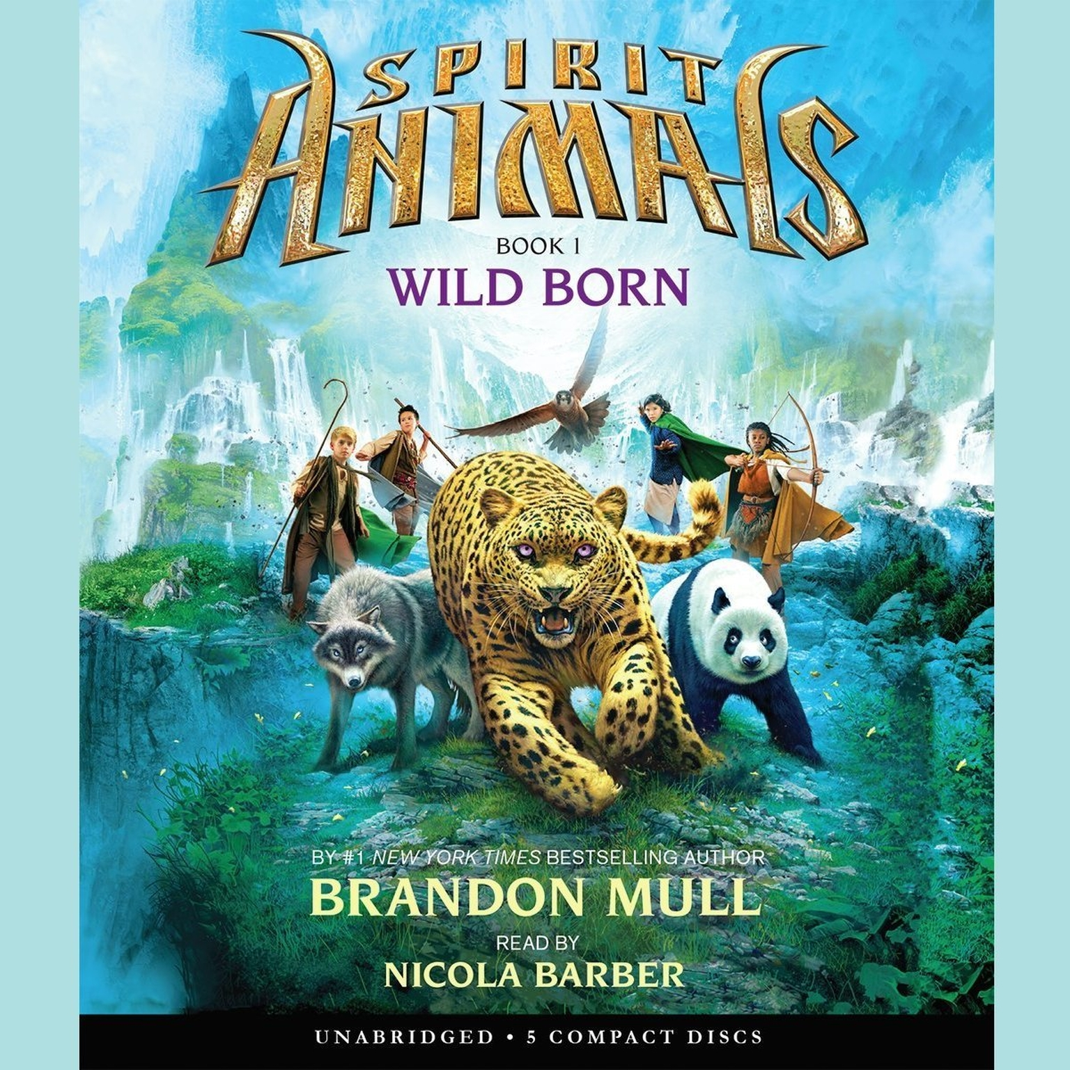 Printable Wild Born Audiobook Cover Art