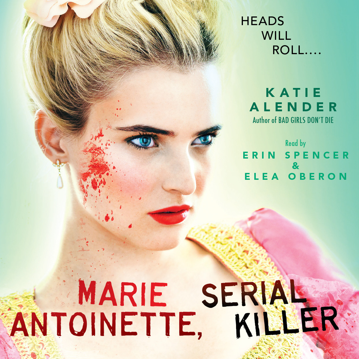 Printable Marie Antoinette, Serial Killer Audiobook Cover Art