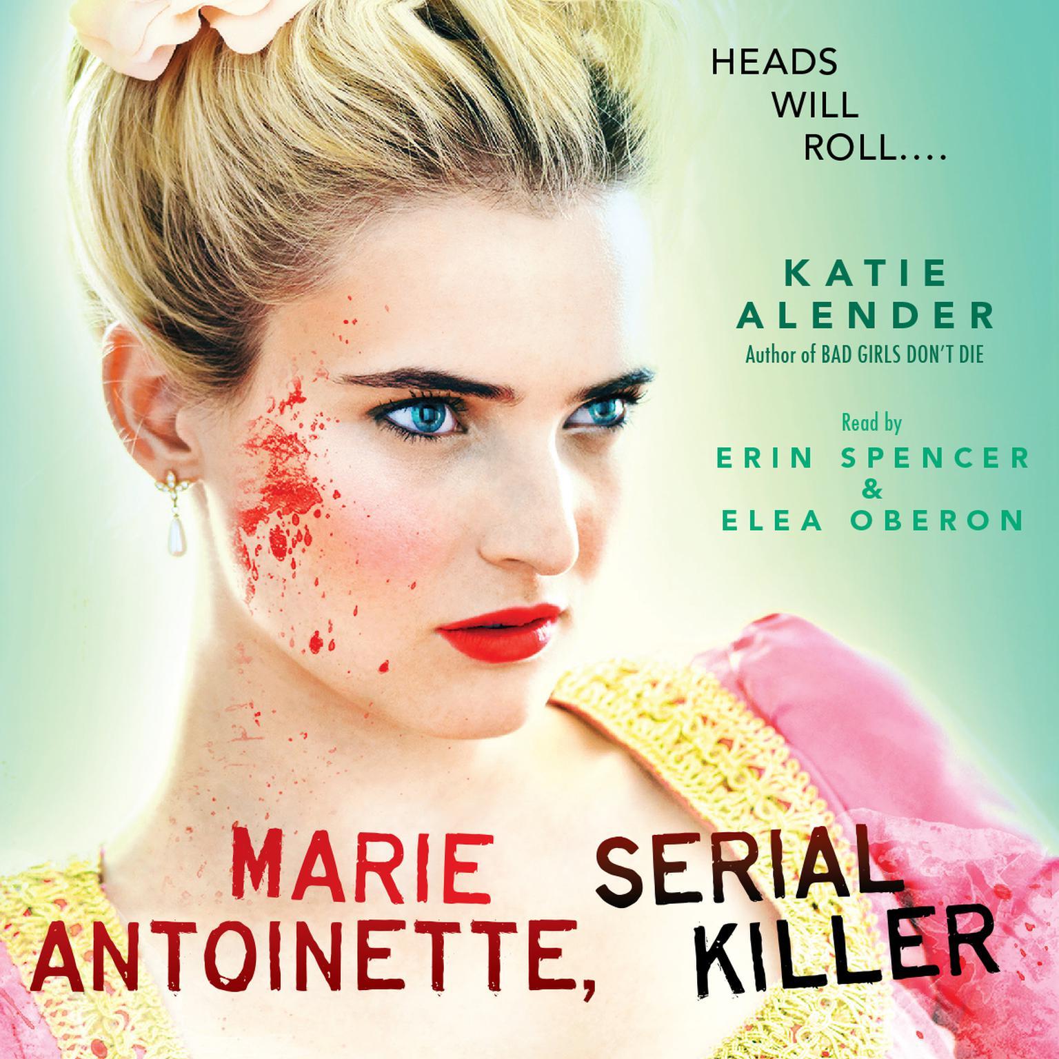Printable Marie Antoinette, Serial Killer Audiobook Cover Art