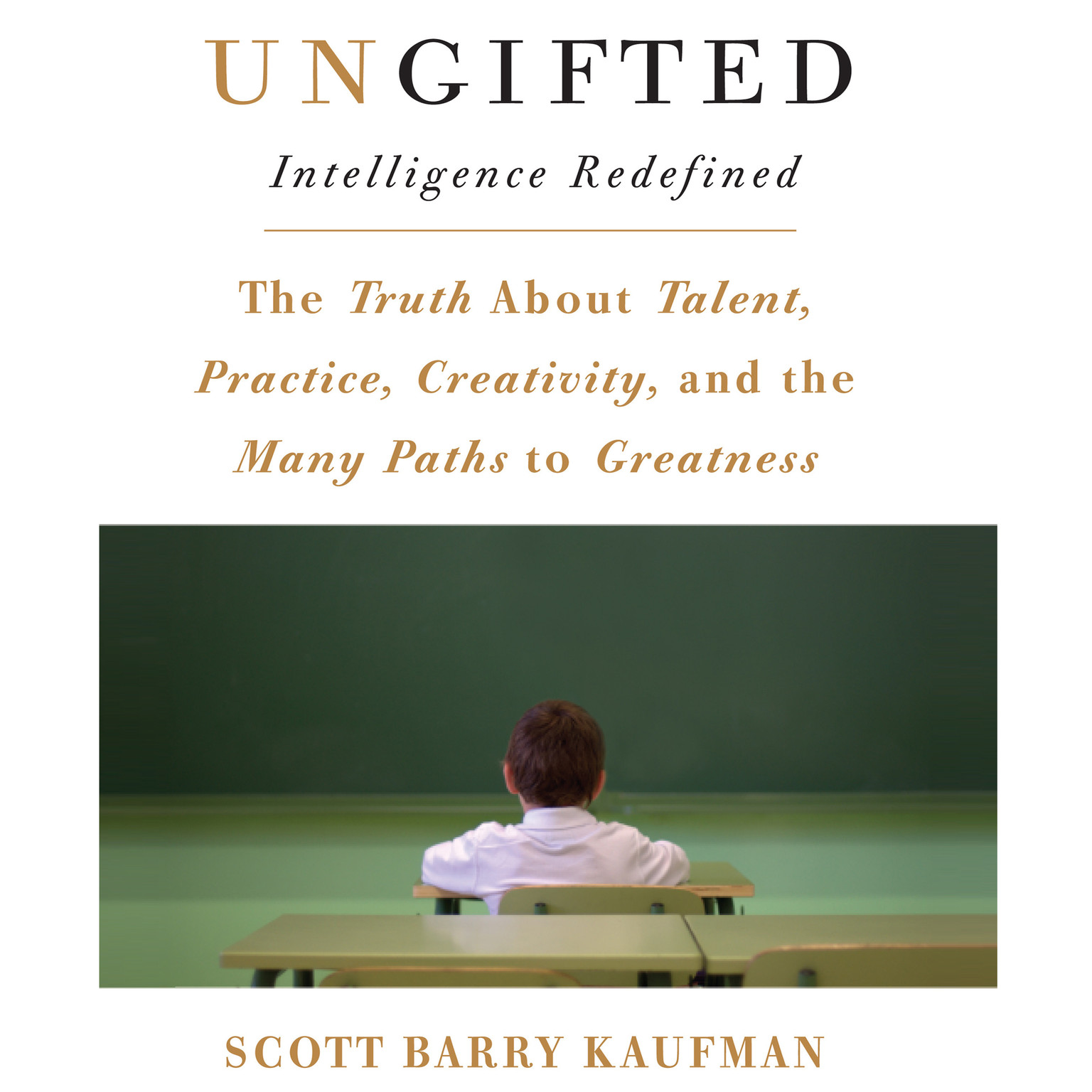 Printable Ungifted: Intelligence Redefined Audiobook Cover Art