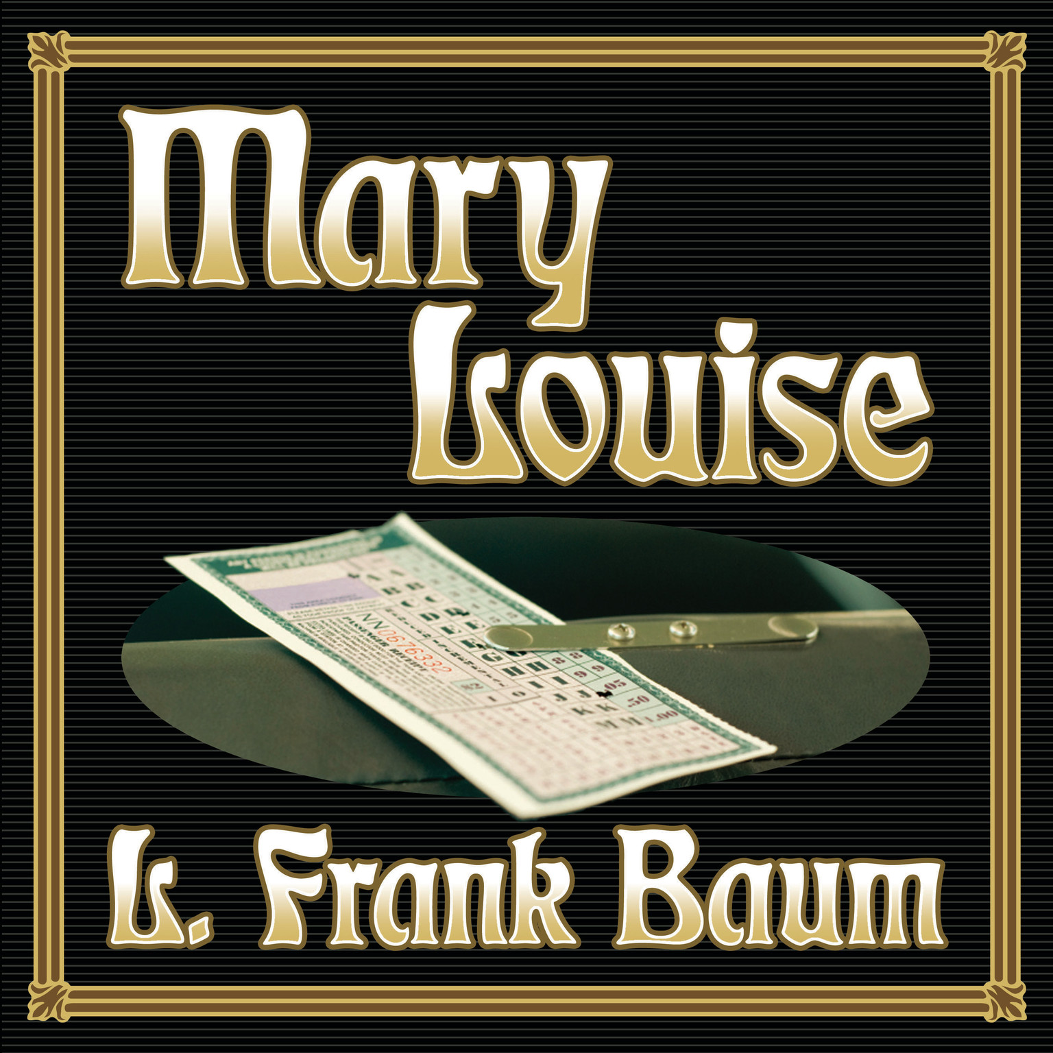 Printable Mary Louise Audiobook Cover Art