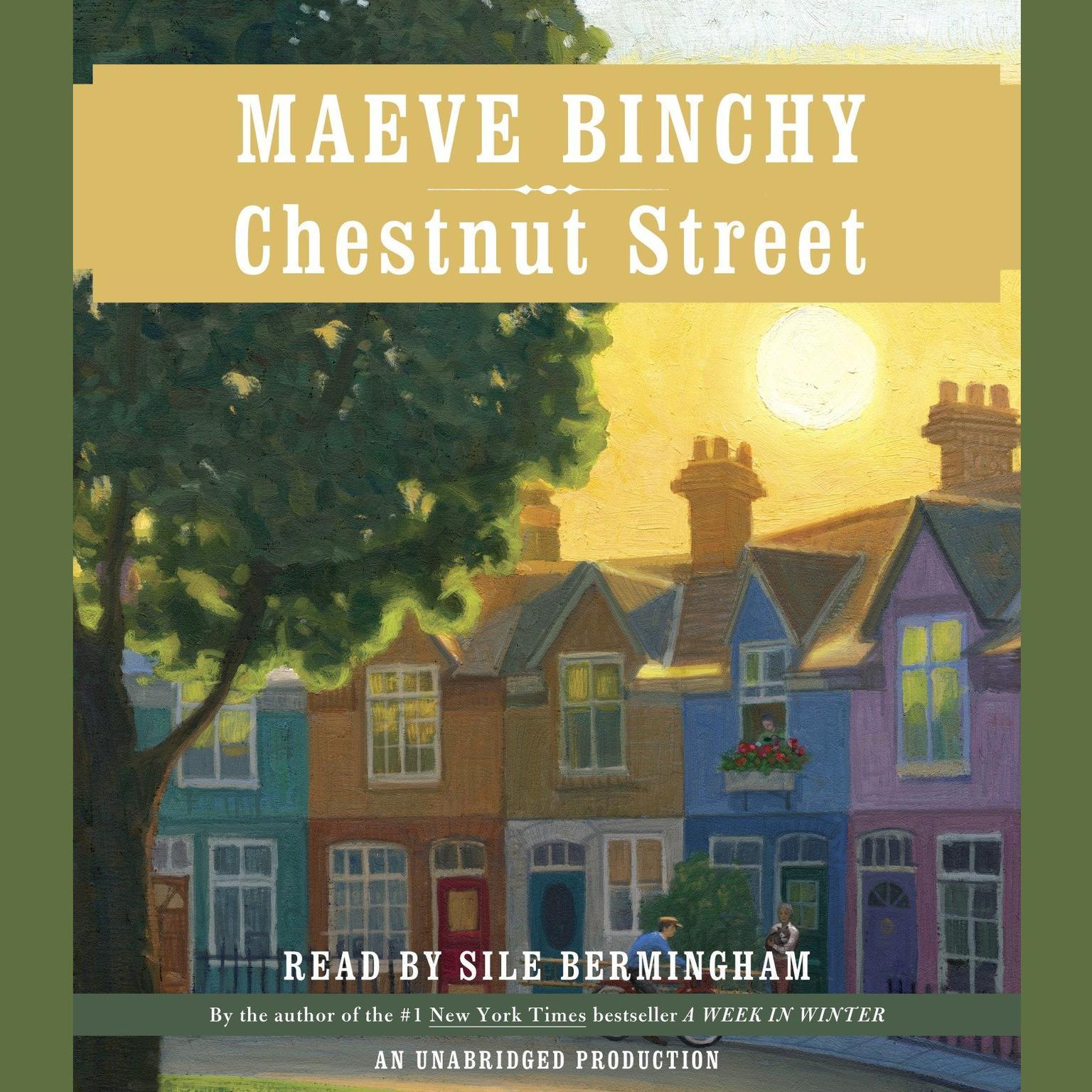 Printable Chestnut Street Audiobook Cover Art