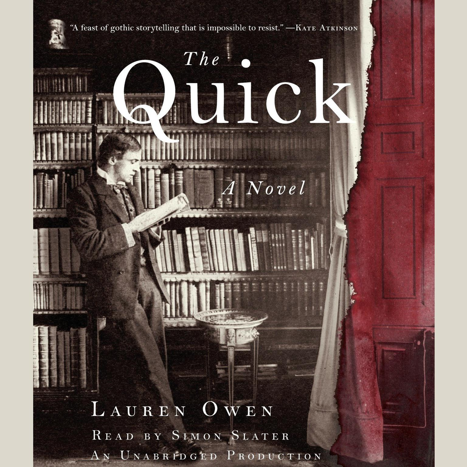 Printable The Quick: A Novel Audiobook Cover Art
