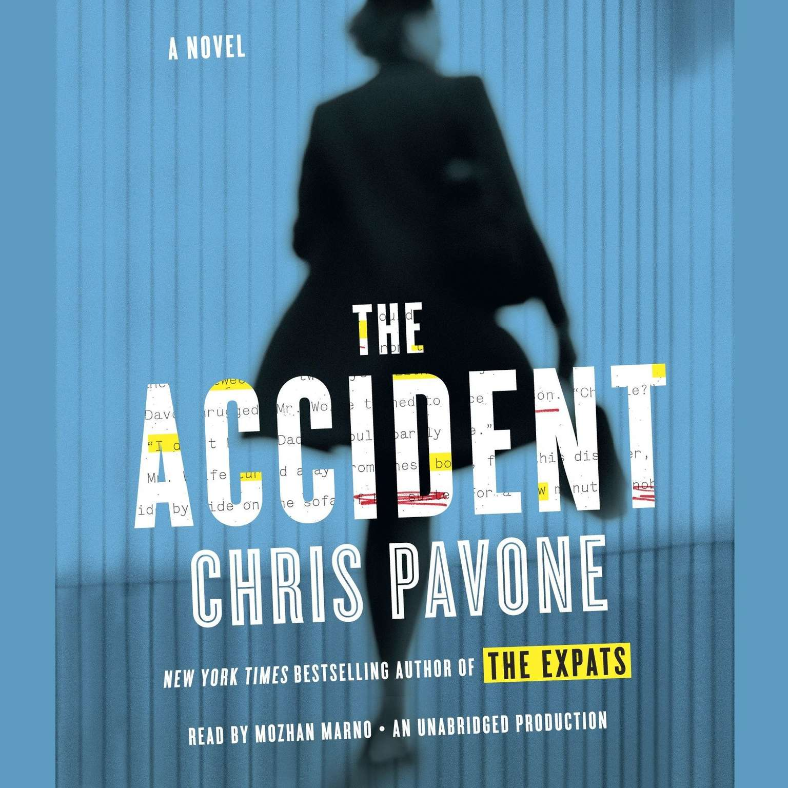 Printable The Accident Audiobook Cover Art