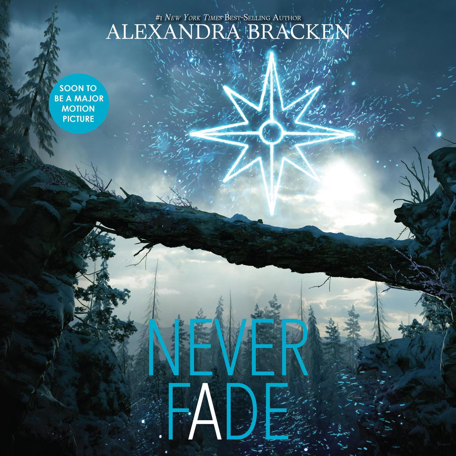 Printable Never Fade Audiobook Cover Art