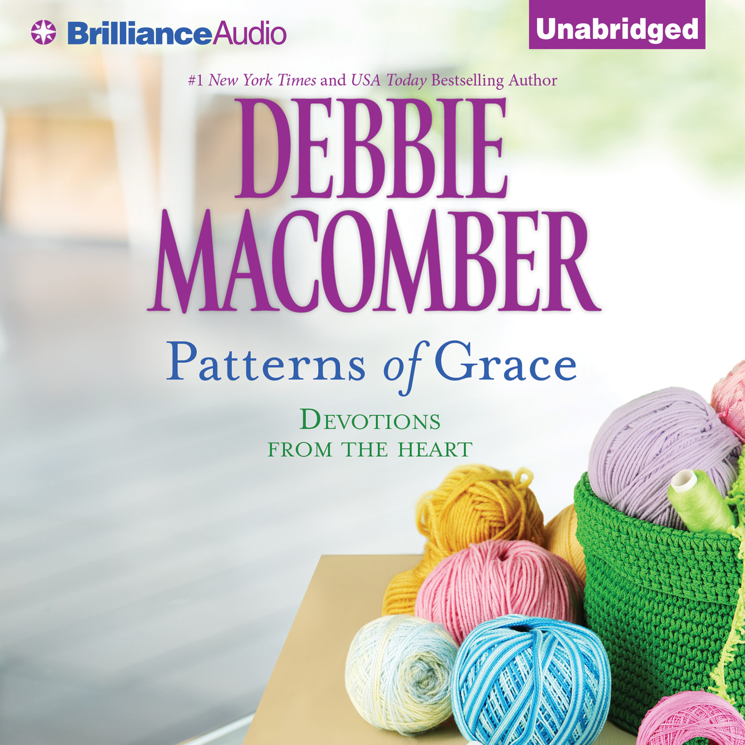 Printable Patterns of Grace: Devotions from the Heart Audiobook Cover Art