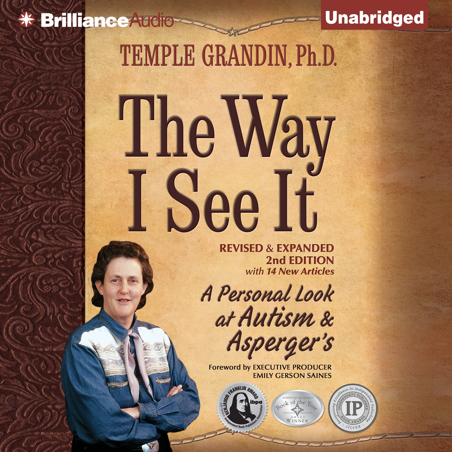 Printable The Way I See It: A Personal Look at Autism & Asperger's Audiobook Cover Art