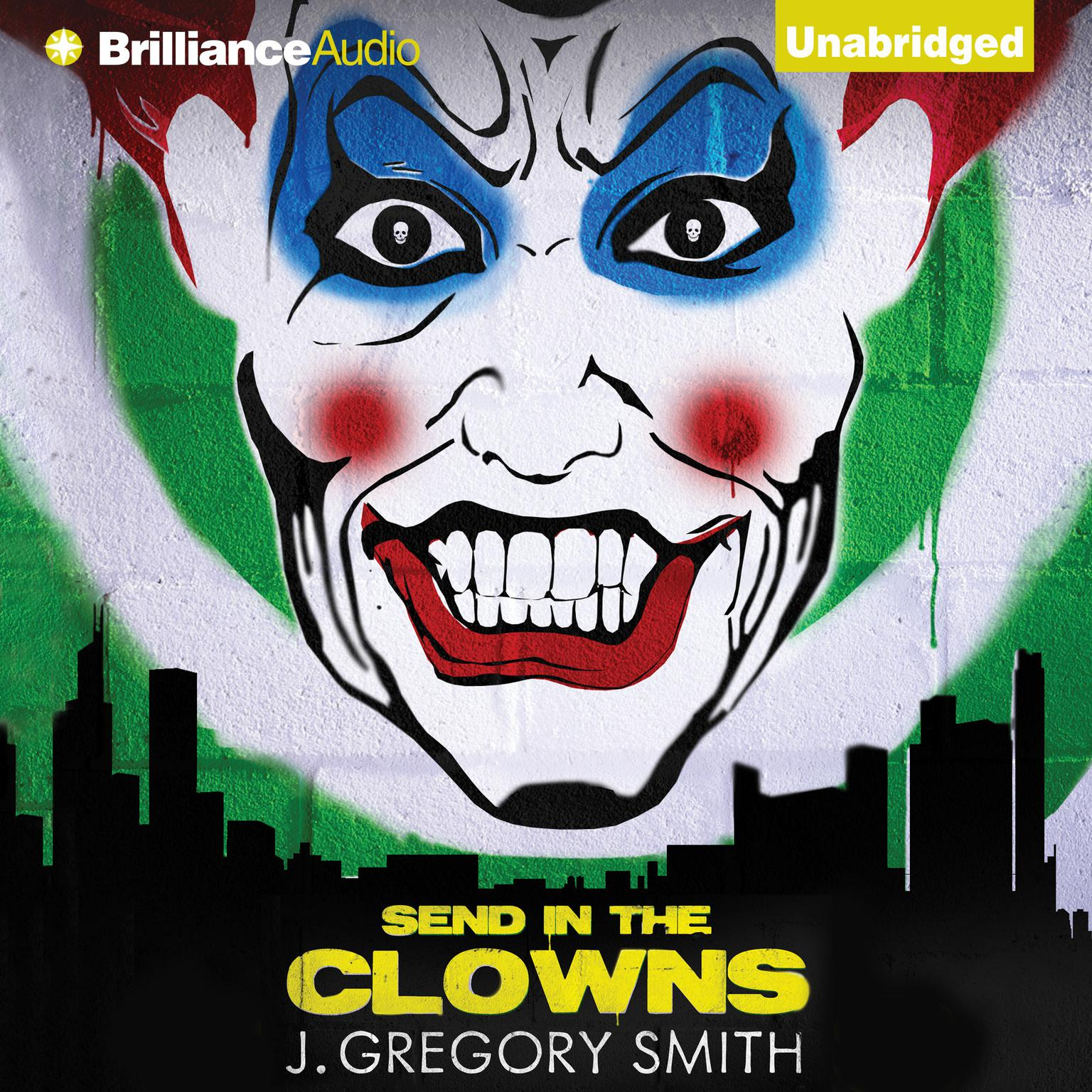 Printable Send in the Clowns Audiobook Cover Art