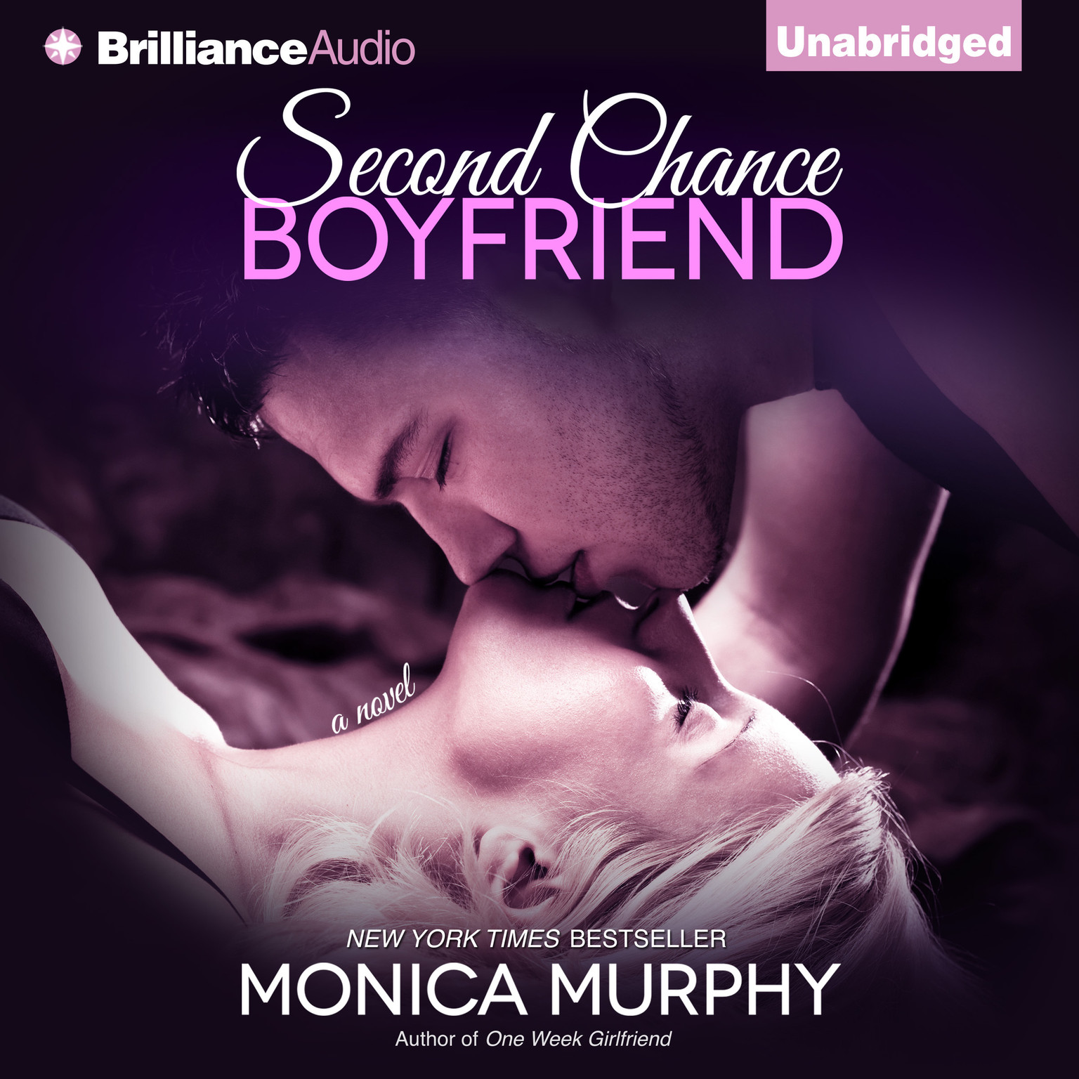 Printable Second Chance Boyfriend: A Novel Audiobook Cover Art