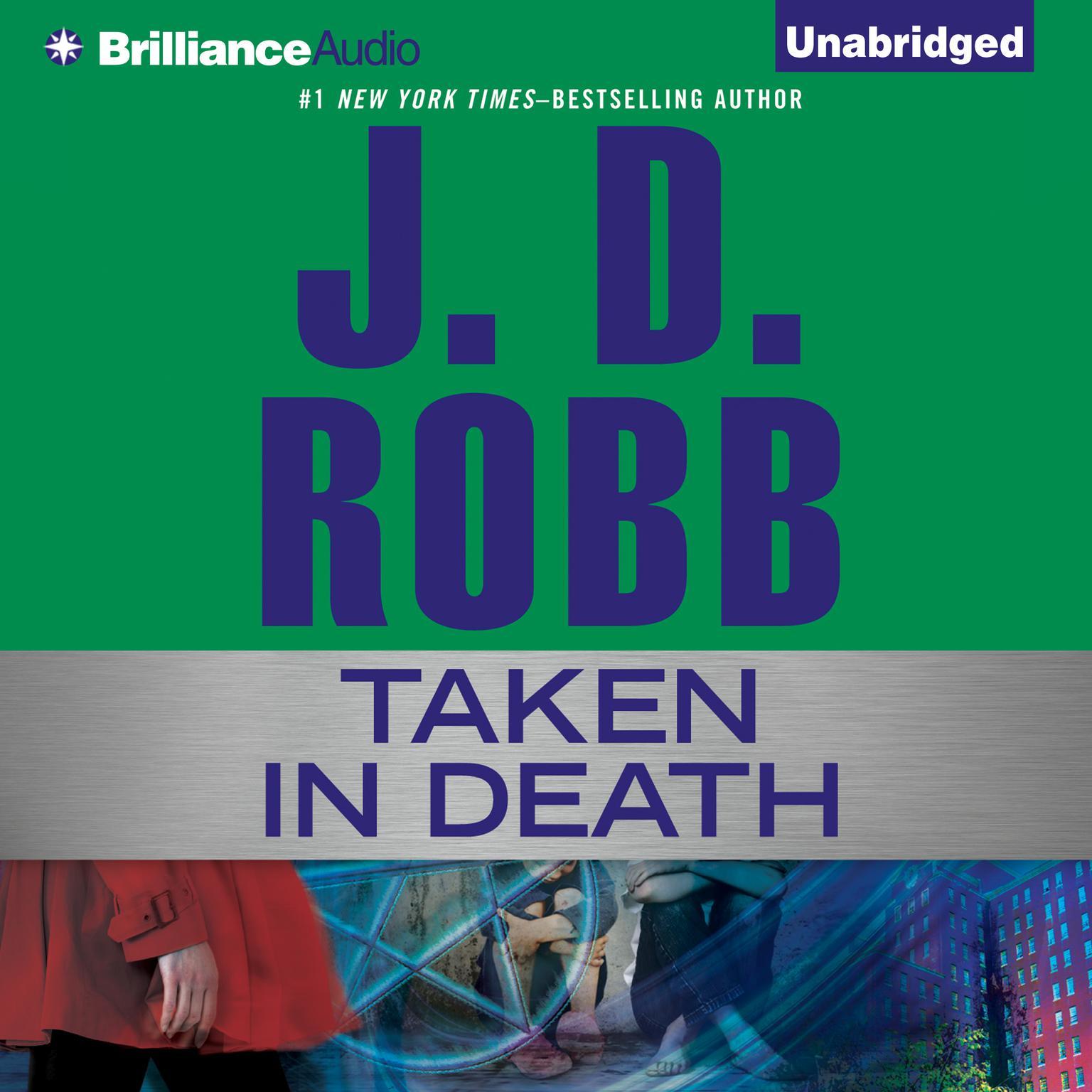 Printable Taken in Death Audiobook Cover Art