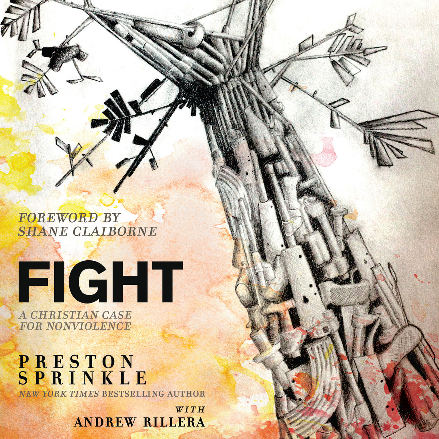 Printable Fight: A Christian Case for Non-Violence Audiobook Cover Art