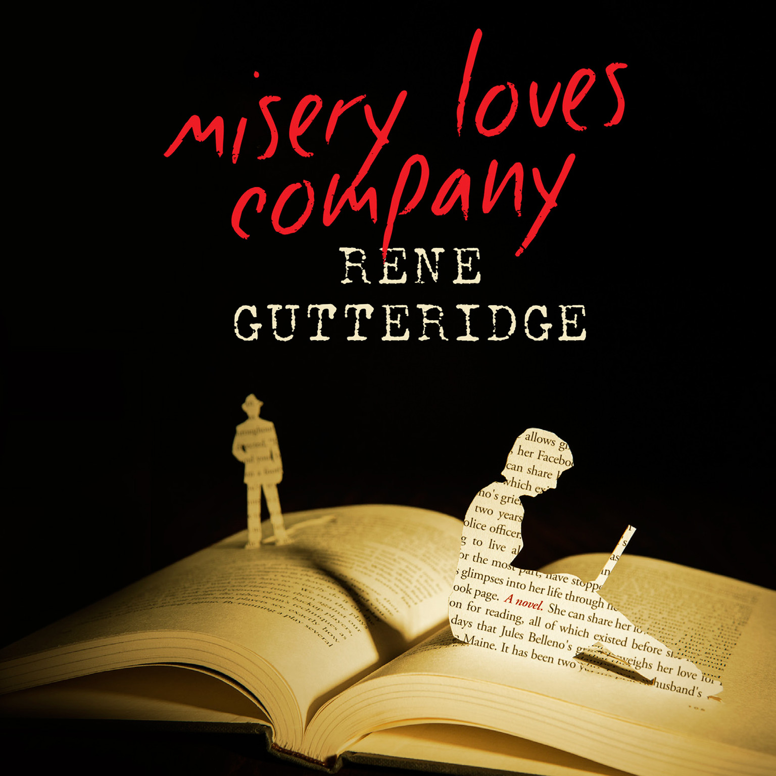 Printable Misery Loves Company Audiobook Cover Art
