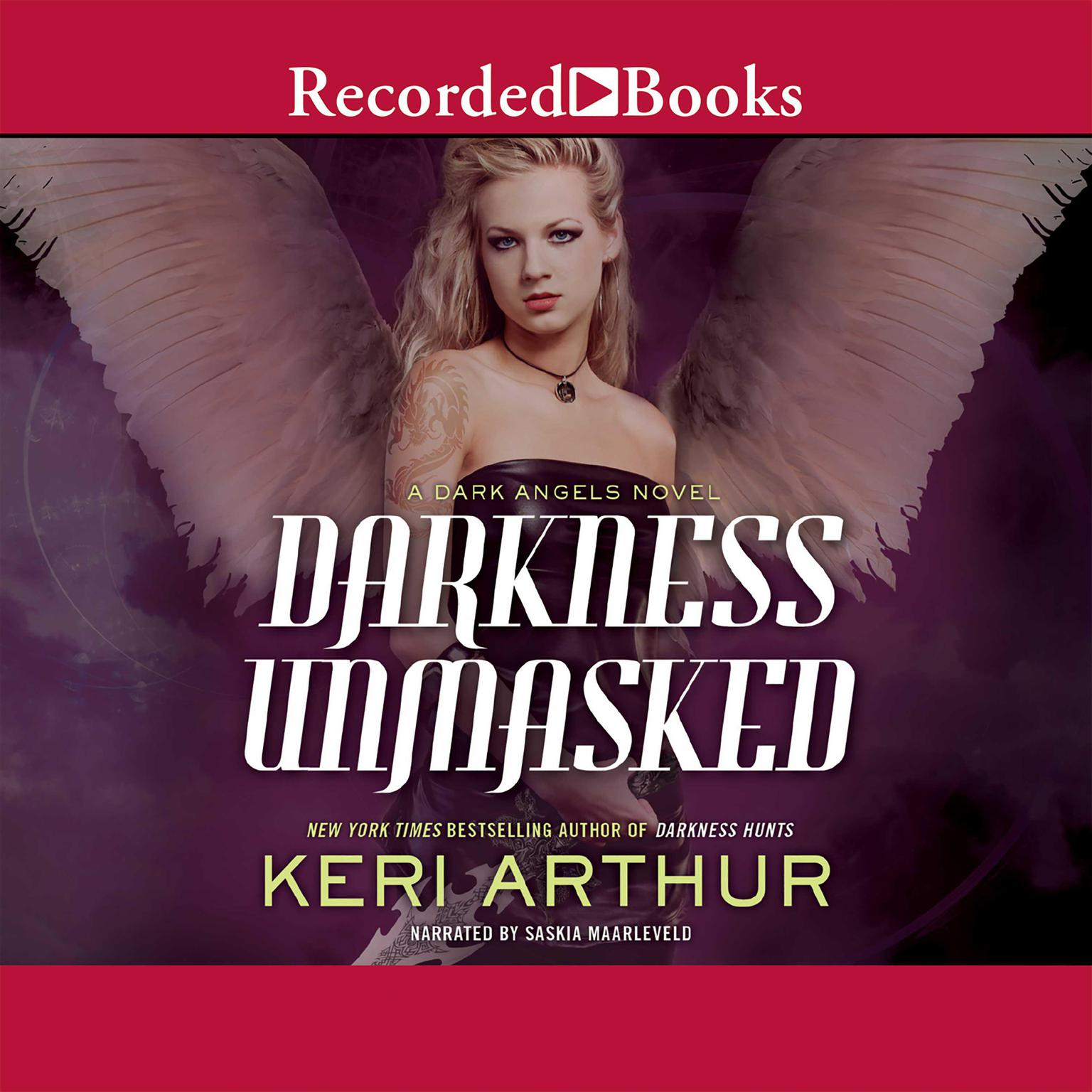Printable Darkness Unmasked: A Dark Angels Novel Audiobook Cover Art