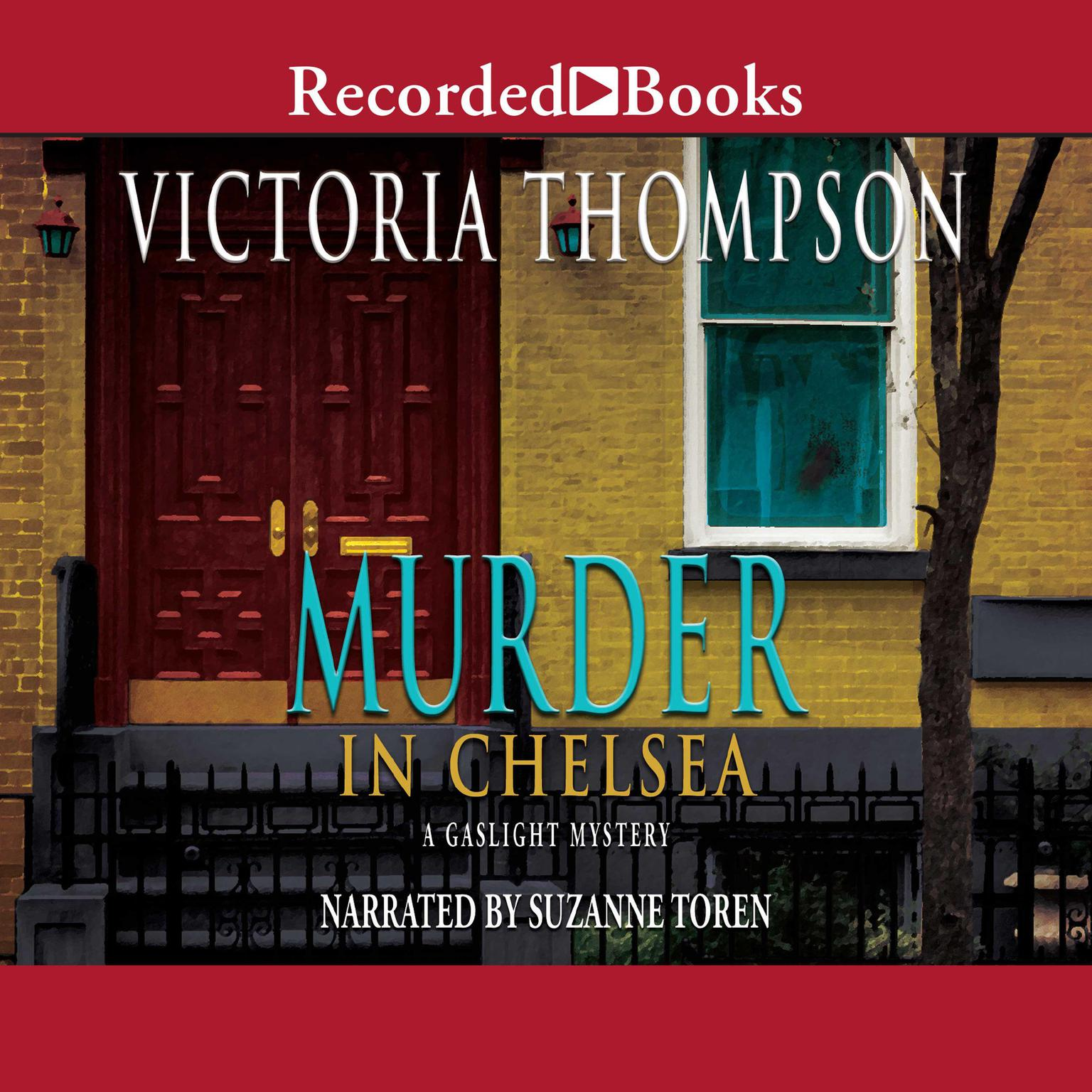 Printable Murder in Chelsea Audiobook Cover Art