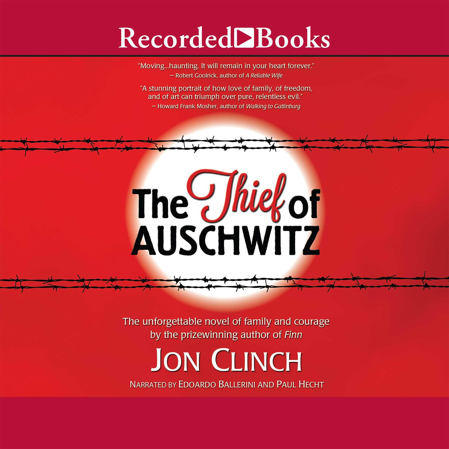 Printable The Thief of Auschwitz Audiobook Cover Art