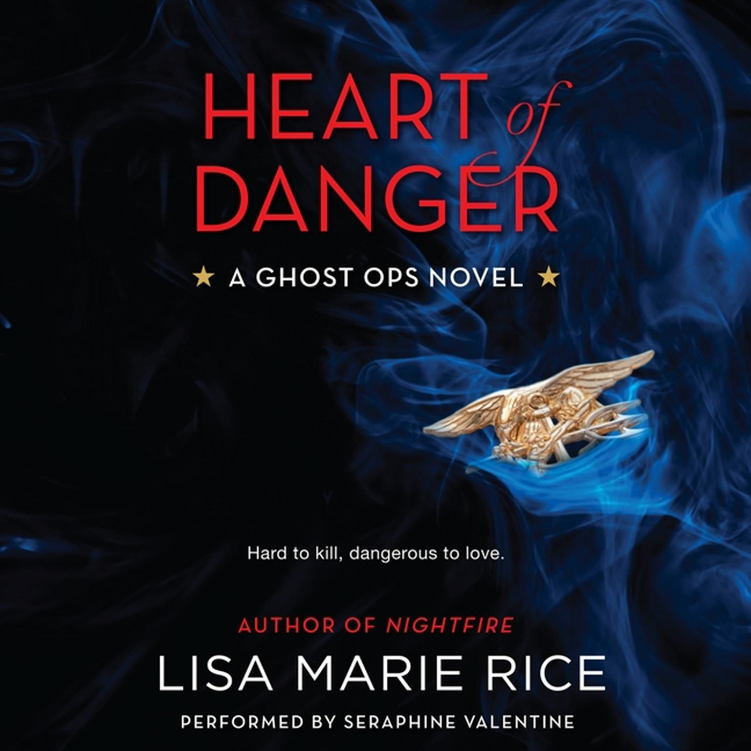 Printable Heart of Danger: A Ghost Ops Novel Audiobook Cover Art