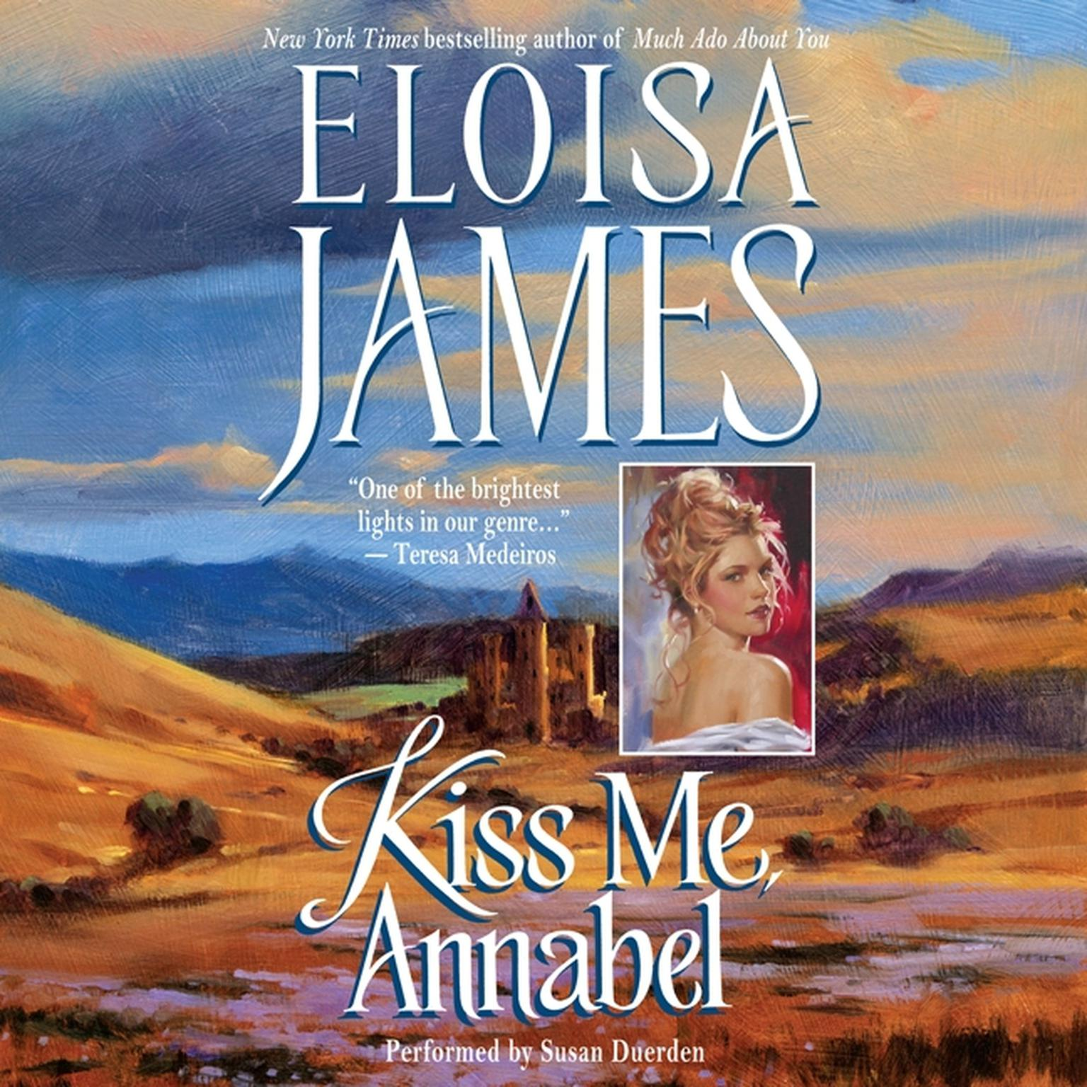 Printable Kiss Me, Annabel Audiobook Cover Art